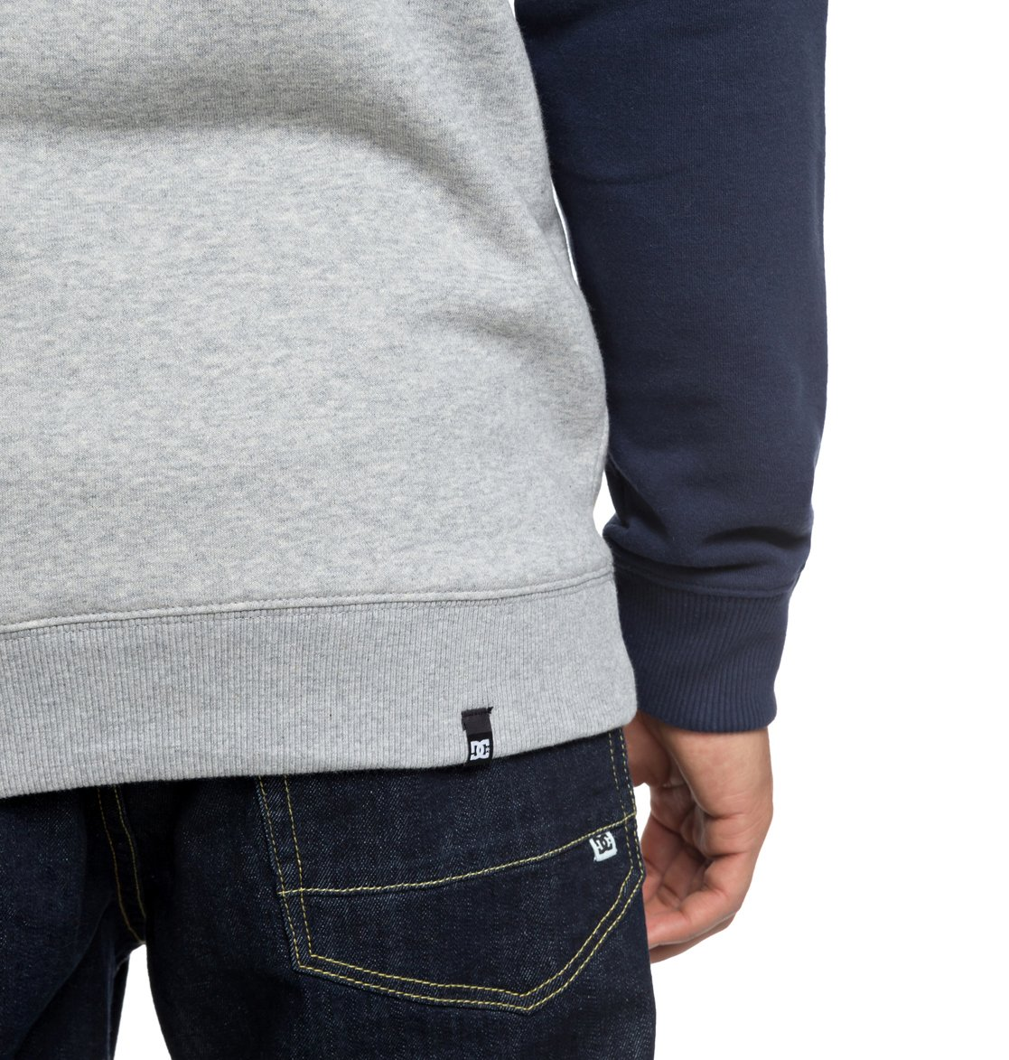 2275c7366afd 5 Circle Star Sweatshirt Blue EDYSF03177 DC Shoes