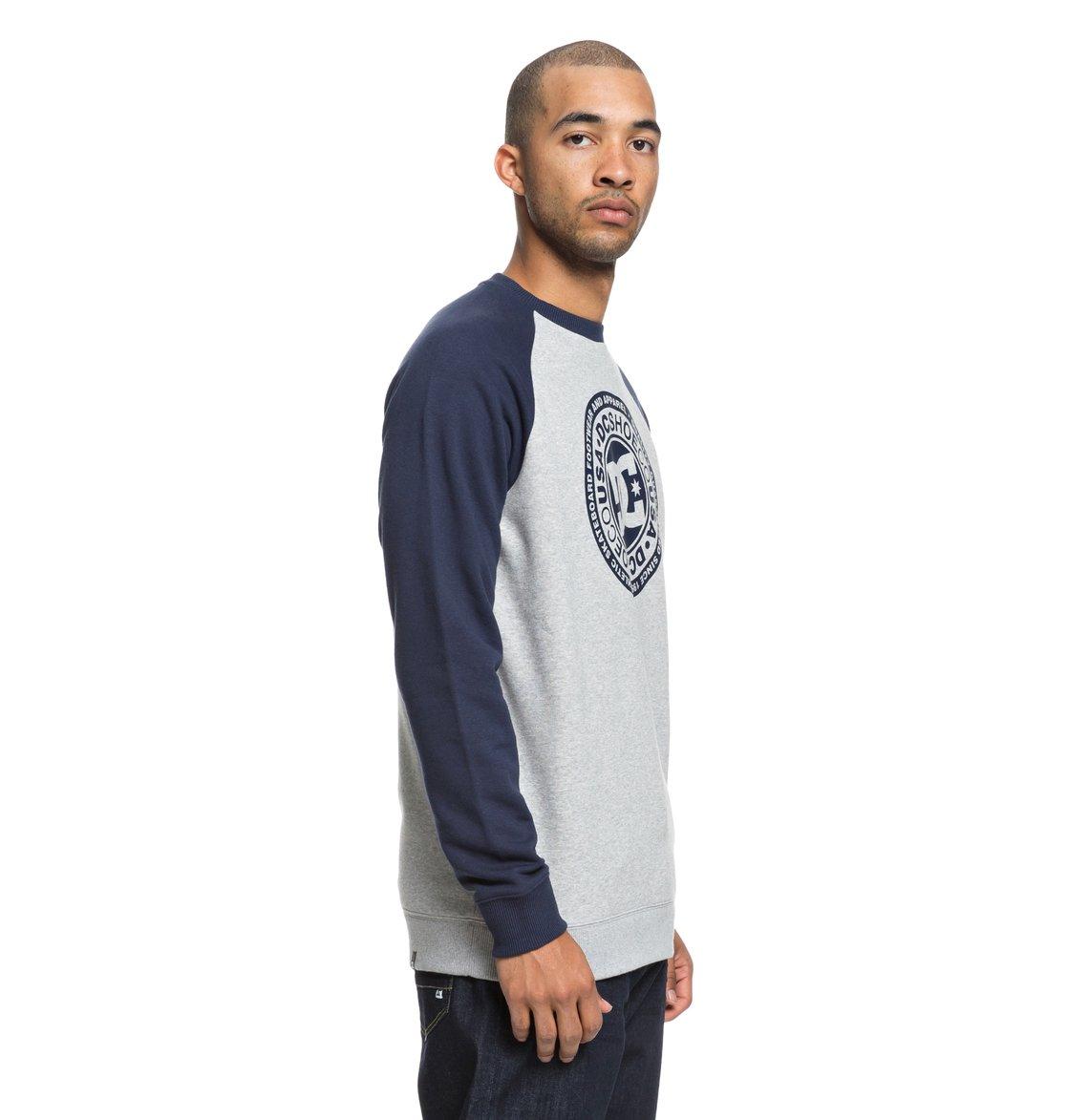 9e5c4d99ed78 1 Circle Star Sweatshirt Blue EDYSF03177 DC Shoes