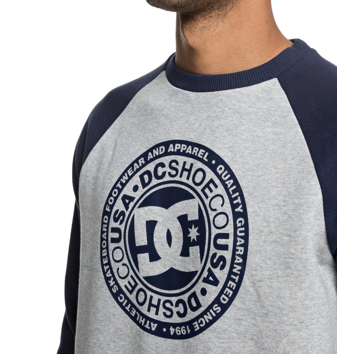 c945ddf55c30 2 Circle Star Sweatshirt Blue EDYSF03177 DC Shoes