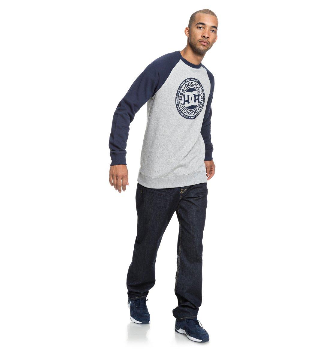 9c16a9ebfcc9 3 Circle Star Sweatshirt Blue EDYSF03177 DC Shoes