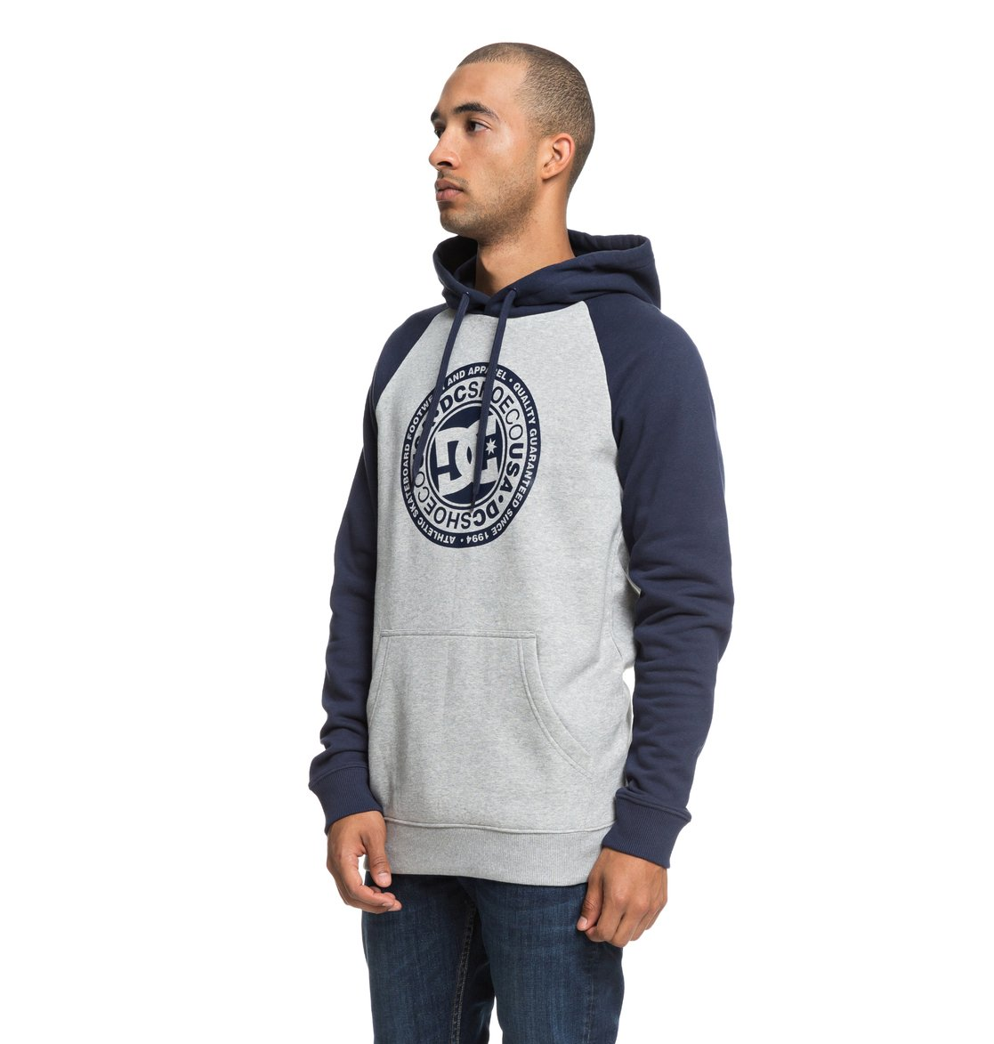 f83def62d 1 Circle Star - Hoodie for Men Blue EDYSF03178 DC Shoes