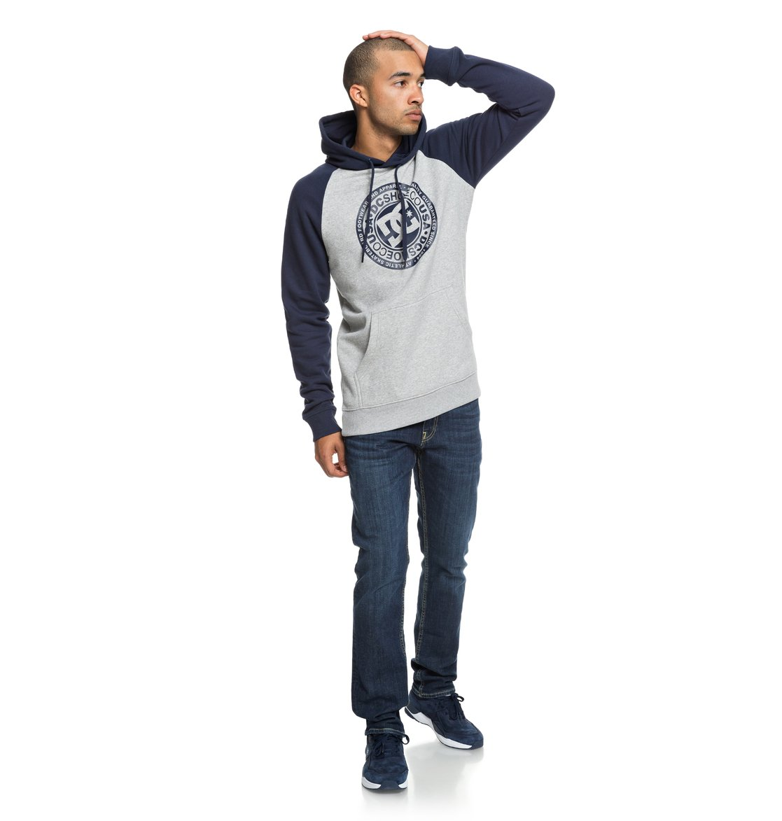 ac5fb1d2f 3 Circle Star - Hoodie for Men Blue EDYSF03178 DC Shoes
