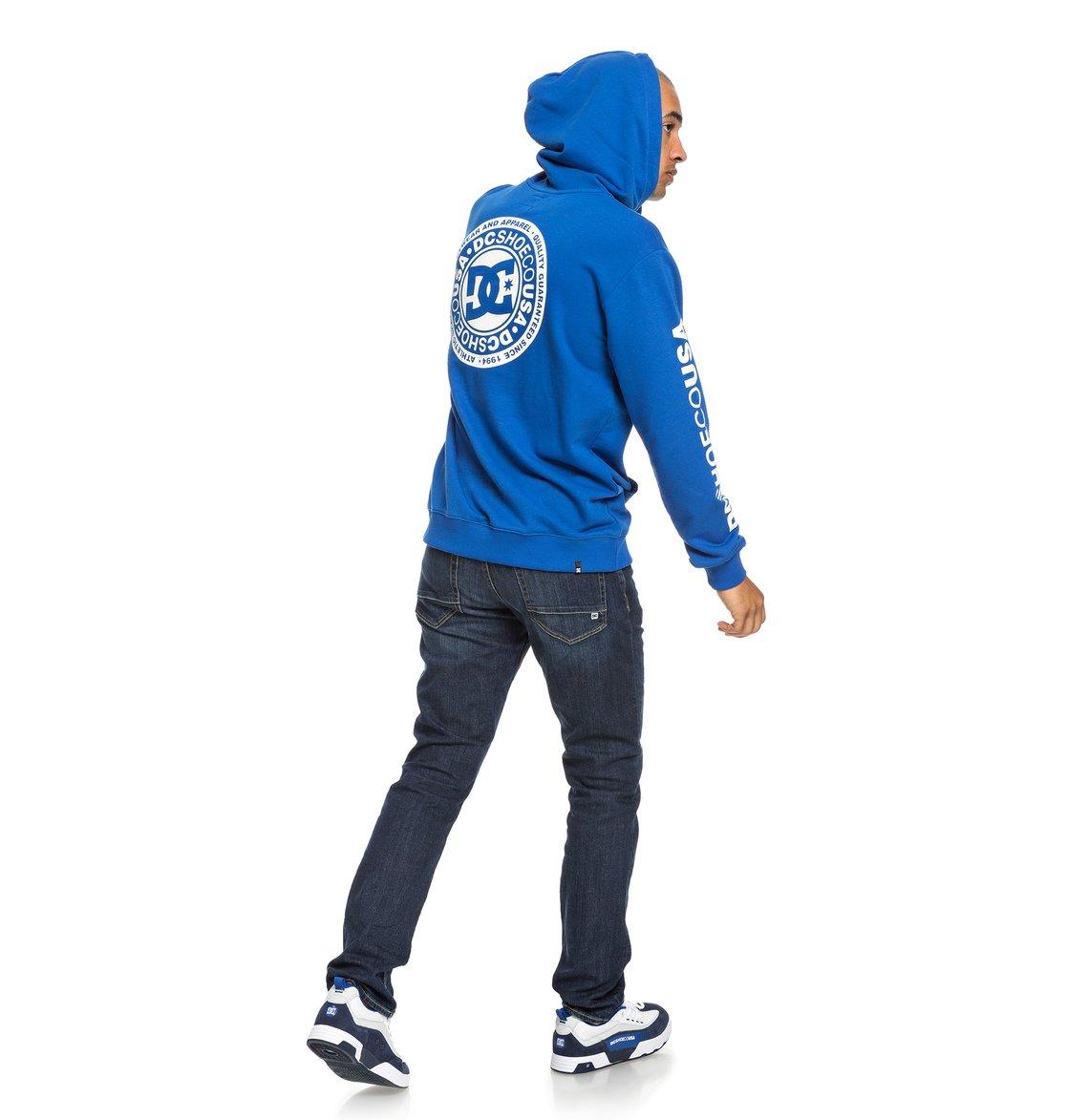 b63b30d9 4 Circle Star Zip-Up Hoodie Blue EDYSF03194 DC Shoes