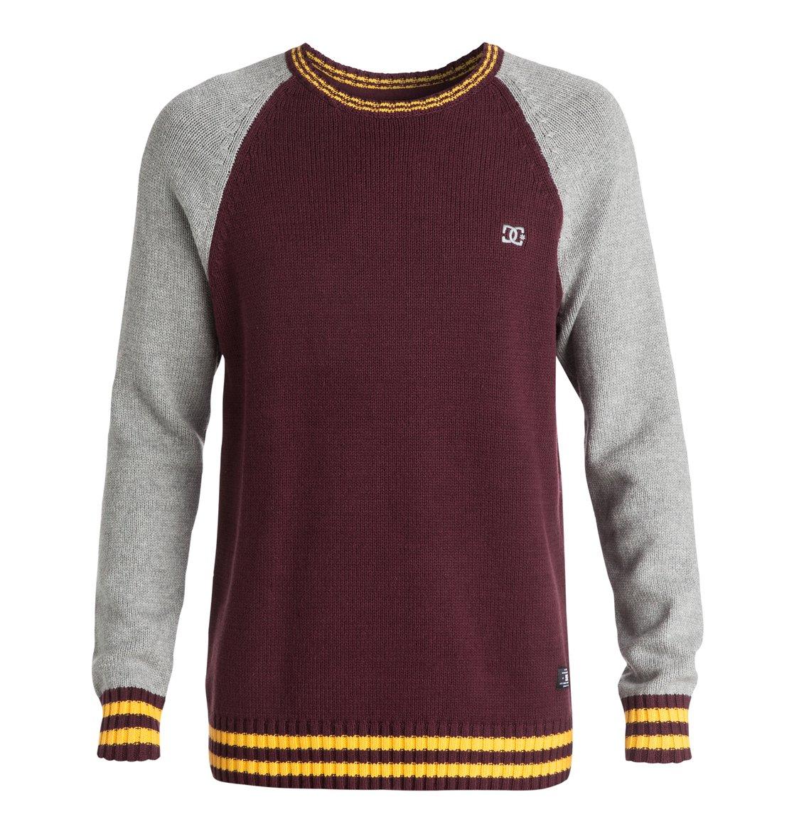 abf398af53433a 0 Men's Wicker Raglan Sweater Red EDYSW03010 DC Shoes