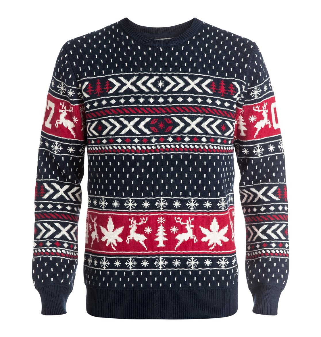 Dc Christmas Sweater.Men S Ugly Xmas Crew Sweater Edysw03012 Dc Shoes