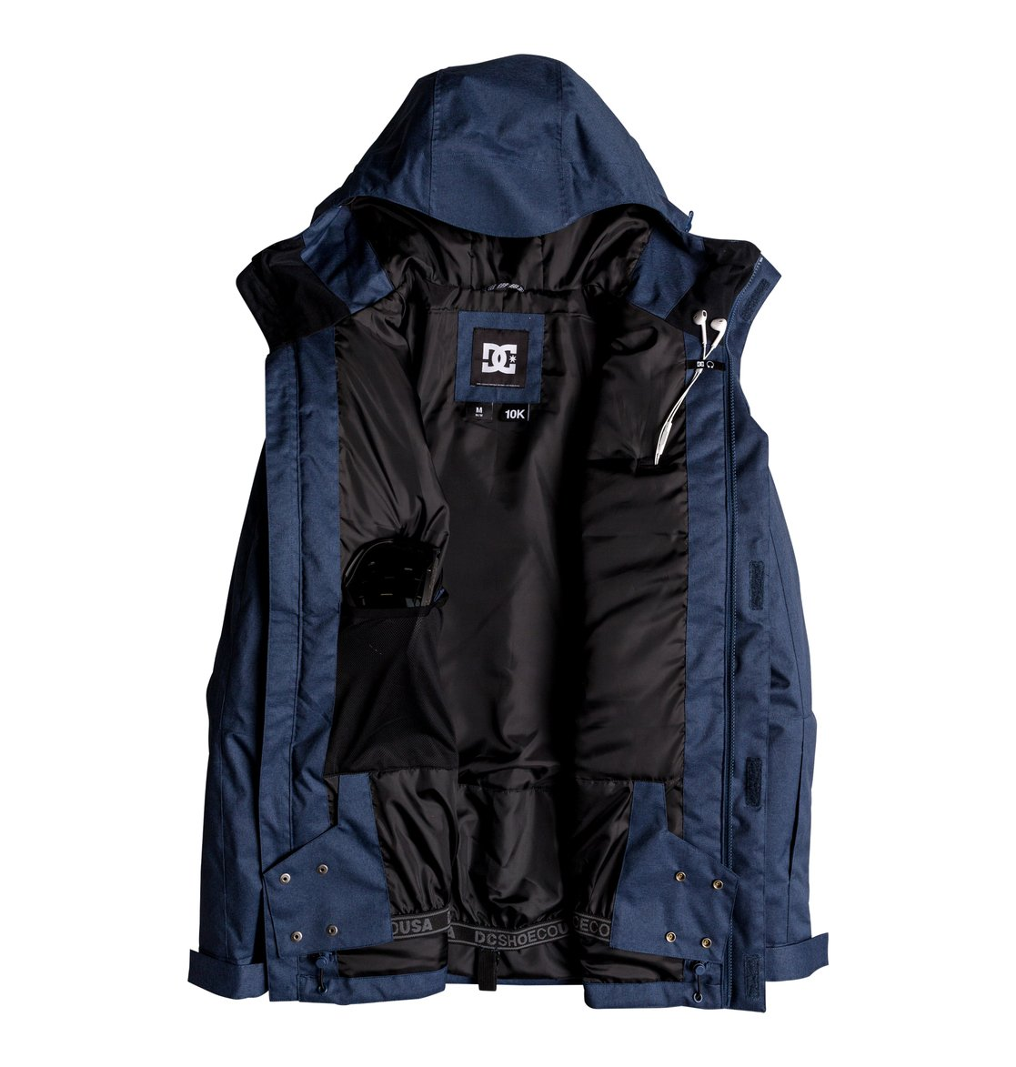 db14303b150 2 Servo - Parka Snow Jacket for Men Blue EDYTJ03071 DC Shoes