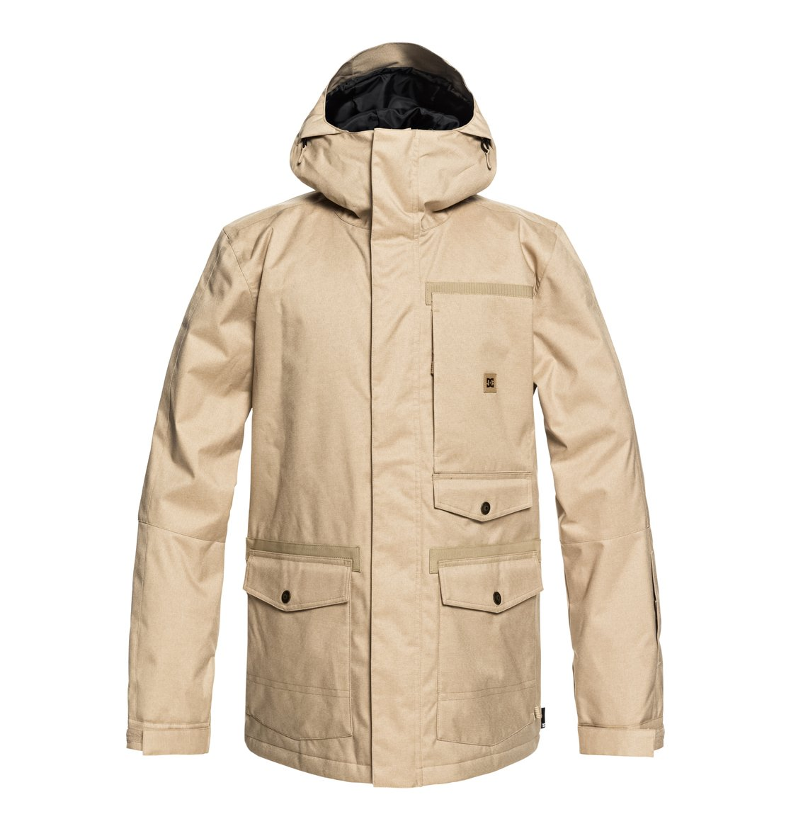 1f65652888f 0 Servo Snow Jacket Brown EDYTJ03071 DC Shoes