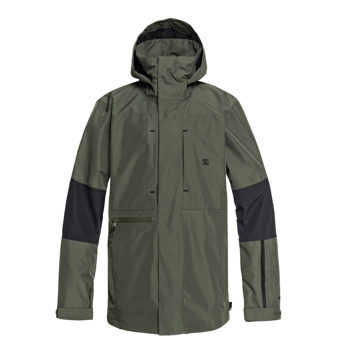 cca5f8767f9 0 Command - Chaqueta shell para nieve comprimible para Hombre Verde  EDYTJ03077 DC Shoes