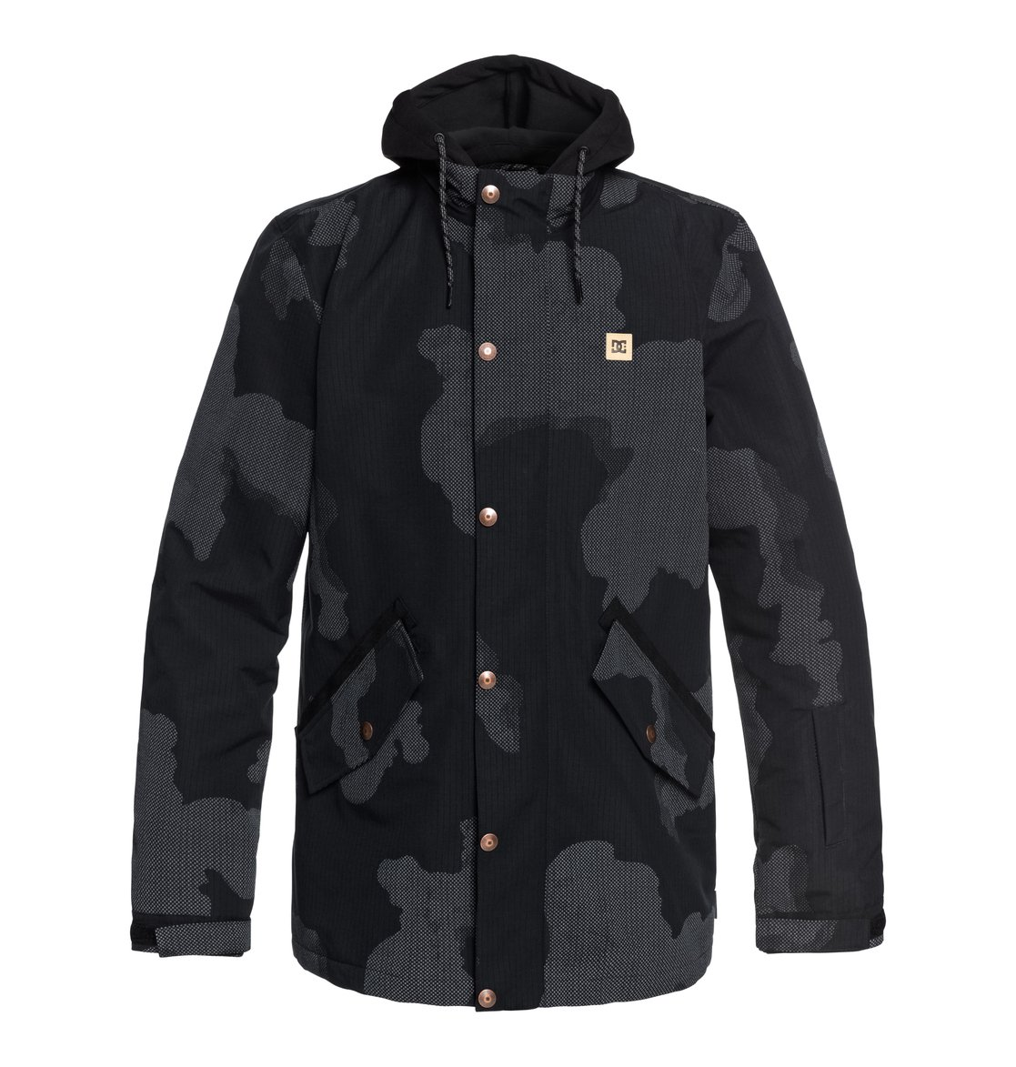 11defe2e3fbd 0 Union Se Snow Jacket Black EDYTJ03079 DC Shoes