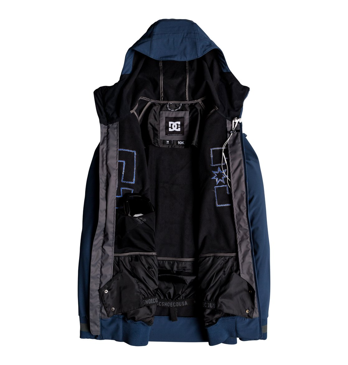 7d814d60689 2 Original Spectrum - Softshell Bomber Snow Jacket for Men Blue EDYTJ03082  DC Shoes