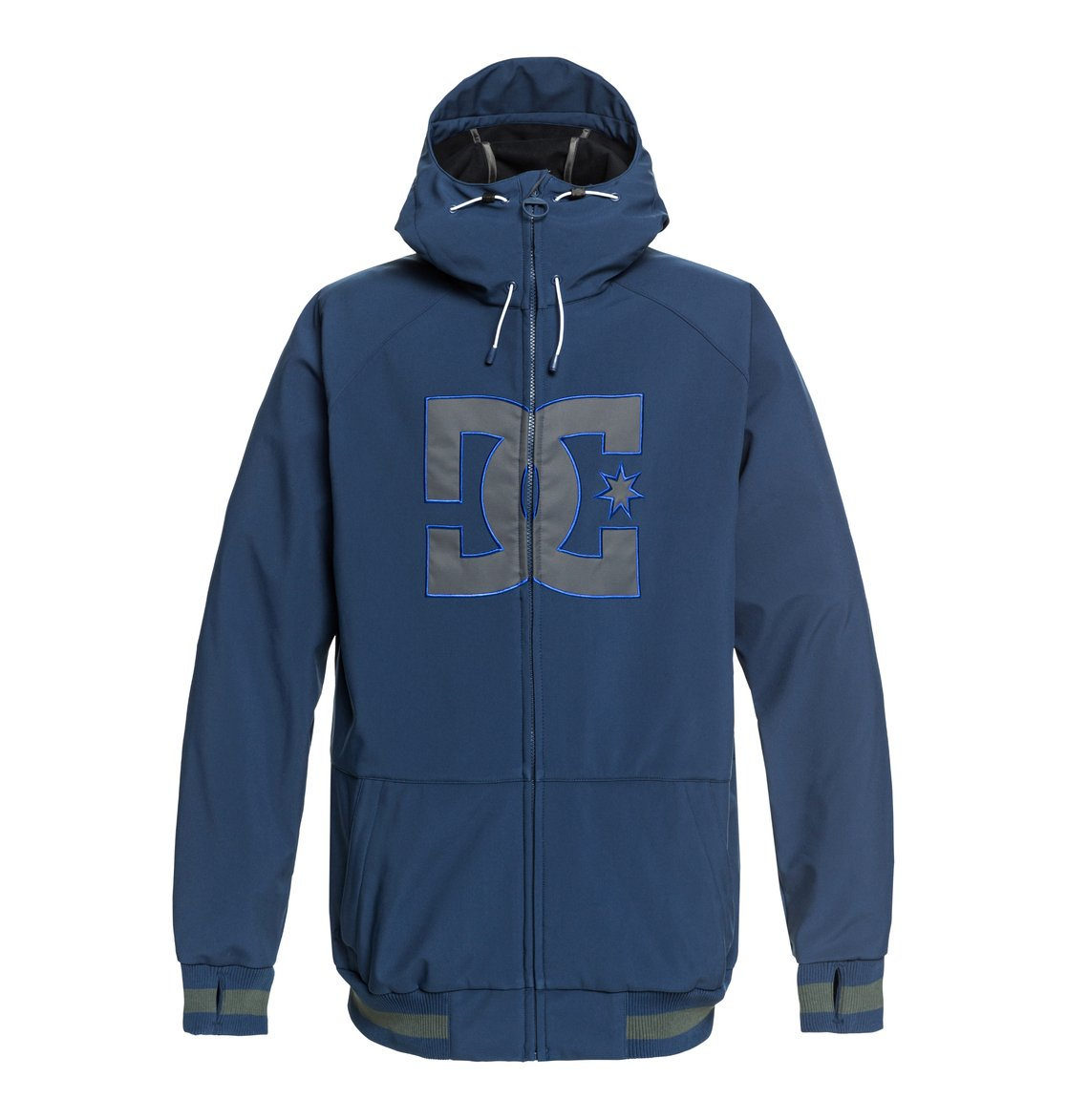 1aa2427ed8c 0 Original Spectrum - Softshell Bomber Snow Jacket for Men Blue EDYTJ03082  DC Shoes