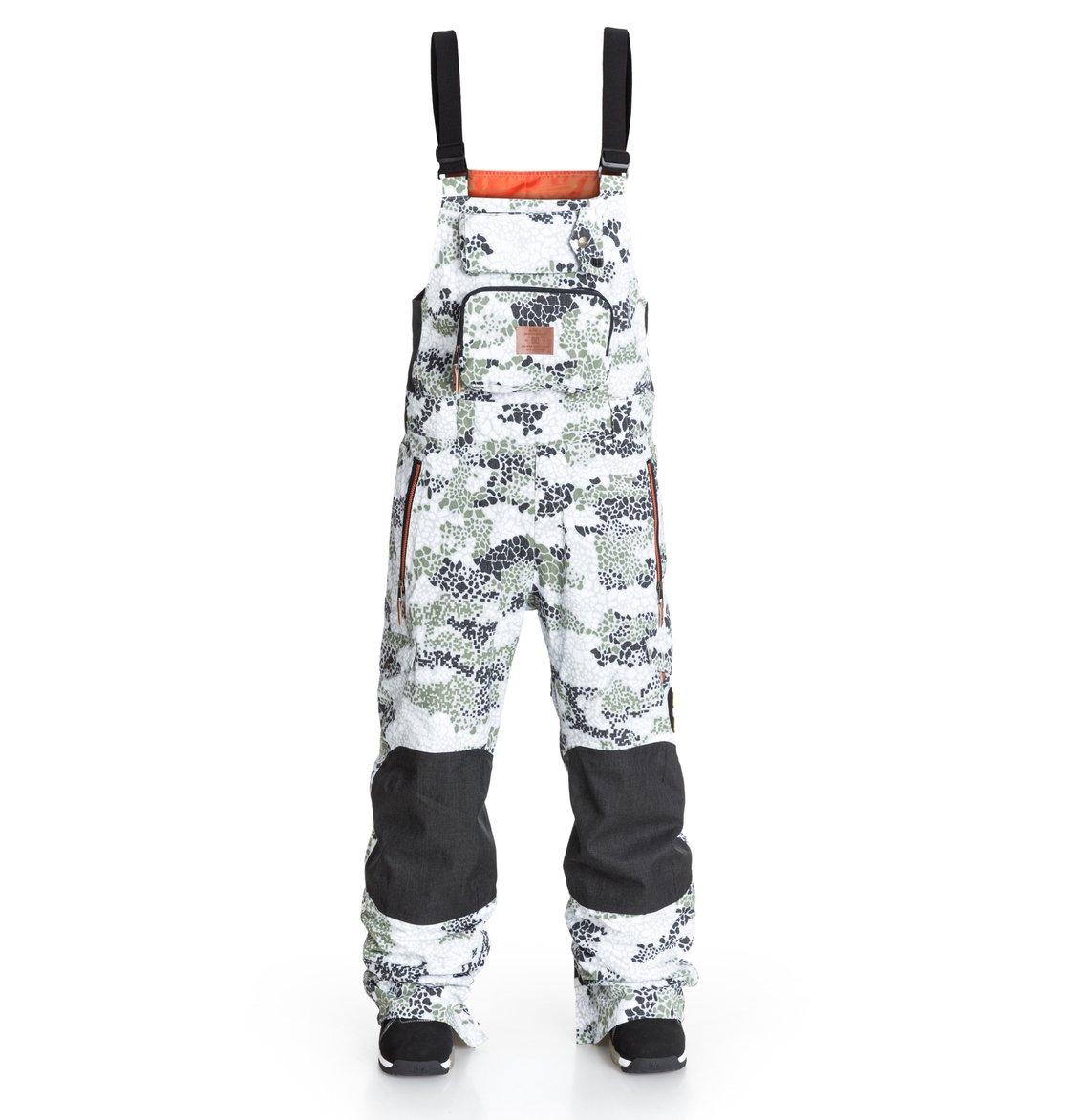 Men's Clash DPM Bib Pants EDYTP03009   DC Shoes