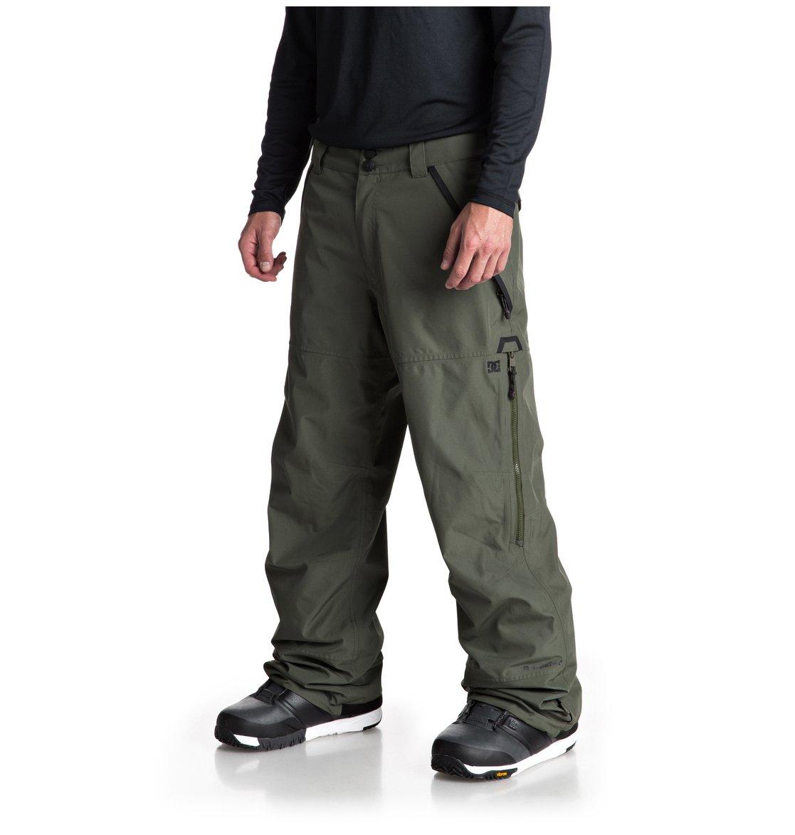 a29e5942c53 1 Nomad - Pantalón shell para nieve para Hombre Verde EDYTP03032 DC Shoes