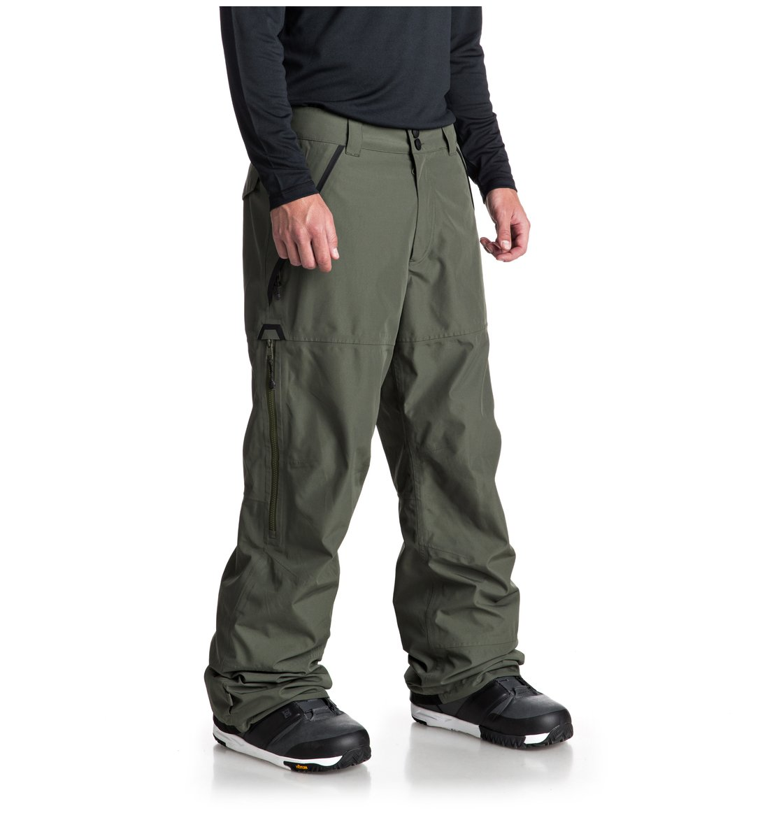ac0bd26d86e 2 Nomad - Pantalón shell para nieve para Hombre Verde EDYTP03032 DC Shoes