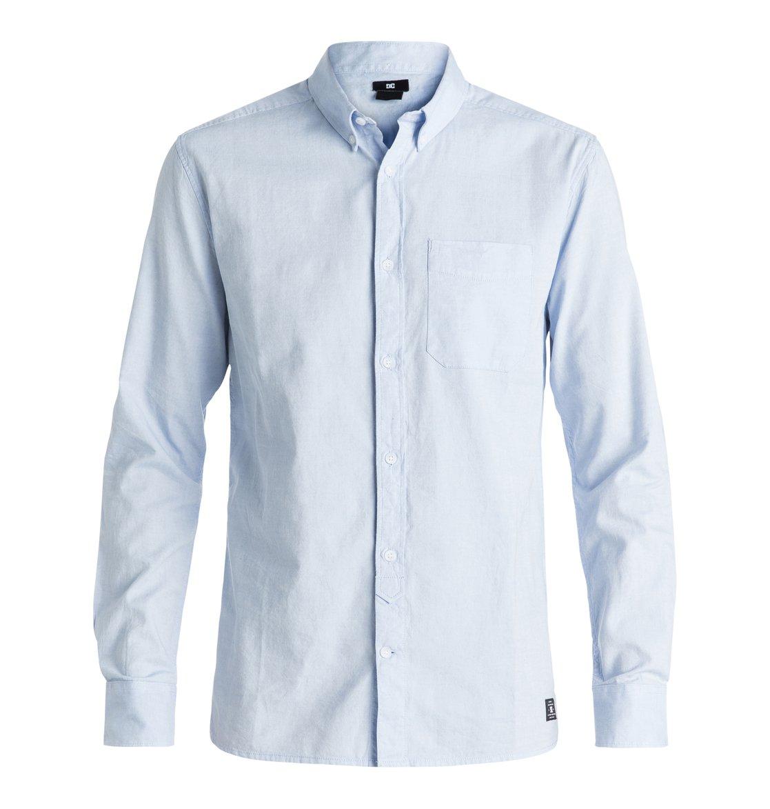27386382674 0 Men s Oxford Long Sleeve Shirt EDYWT03143 DC Shoes
