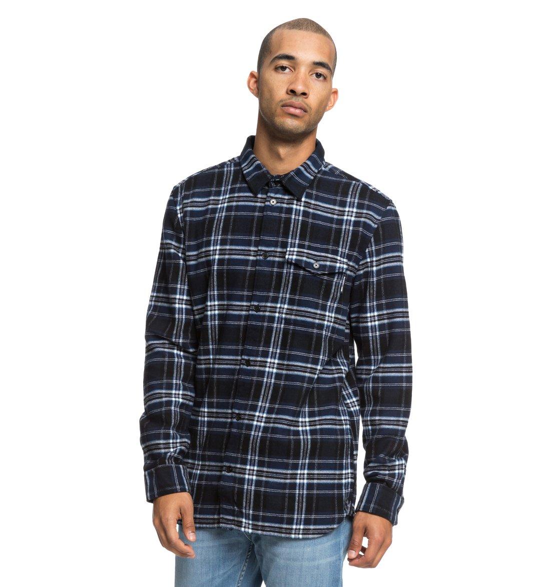 Marsha Long Sleeve Flannel Shirt EDYWT03207   DC Shoes