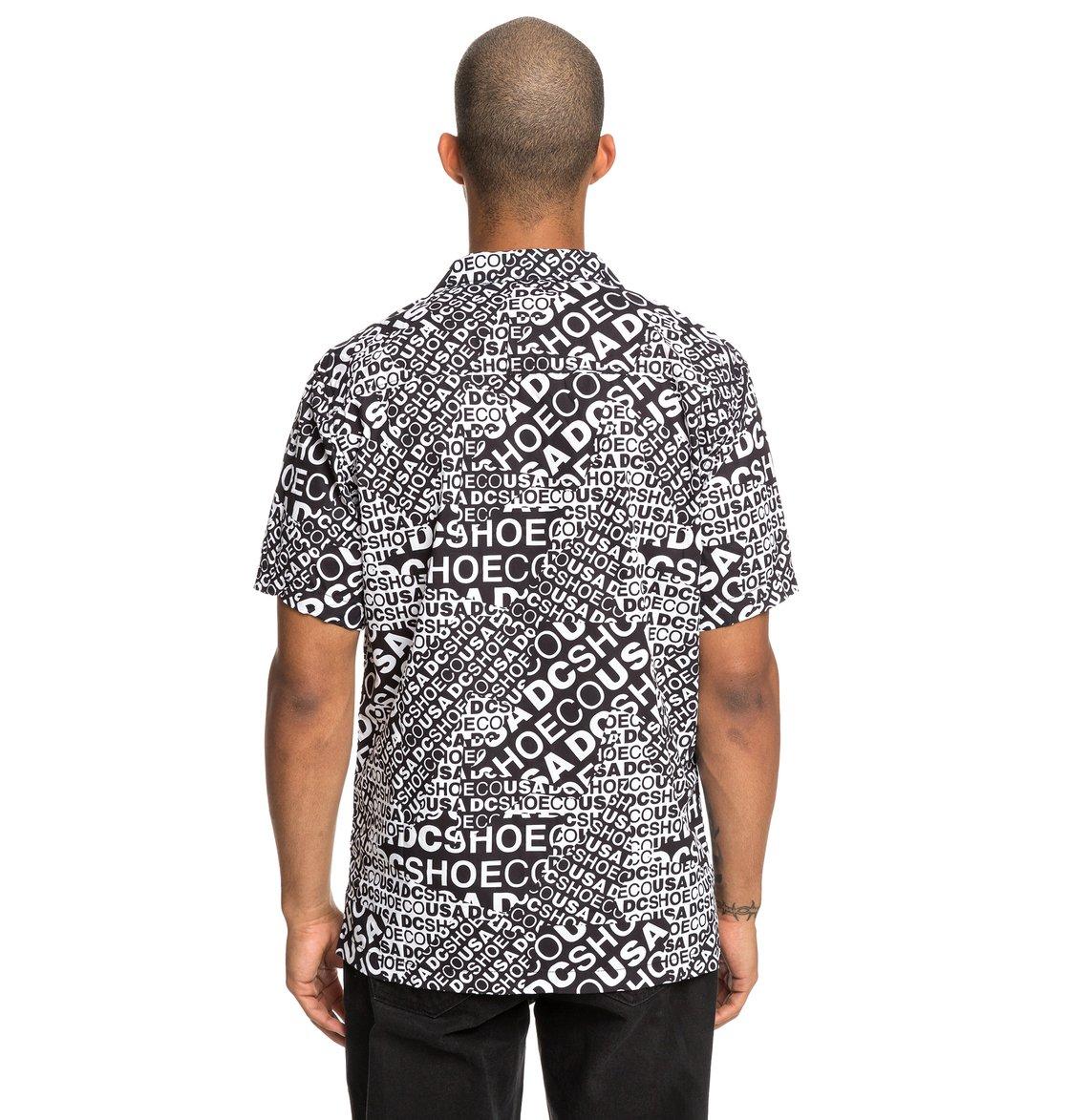 57438a694245 5 Last Resort - Camicia a maniche corte da Uomo White EDYWT03217 DC Shoes
