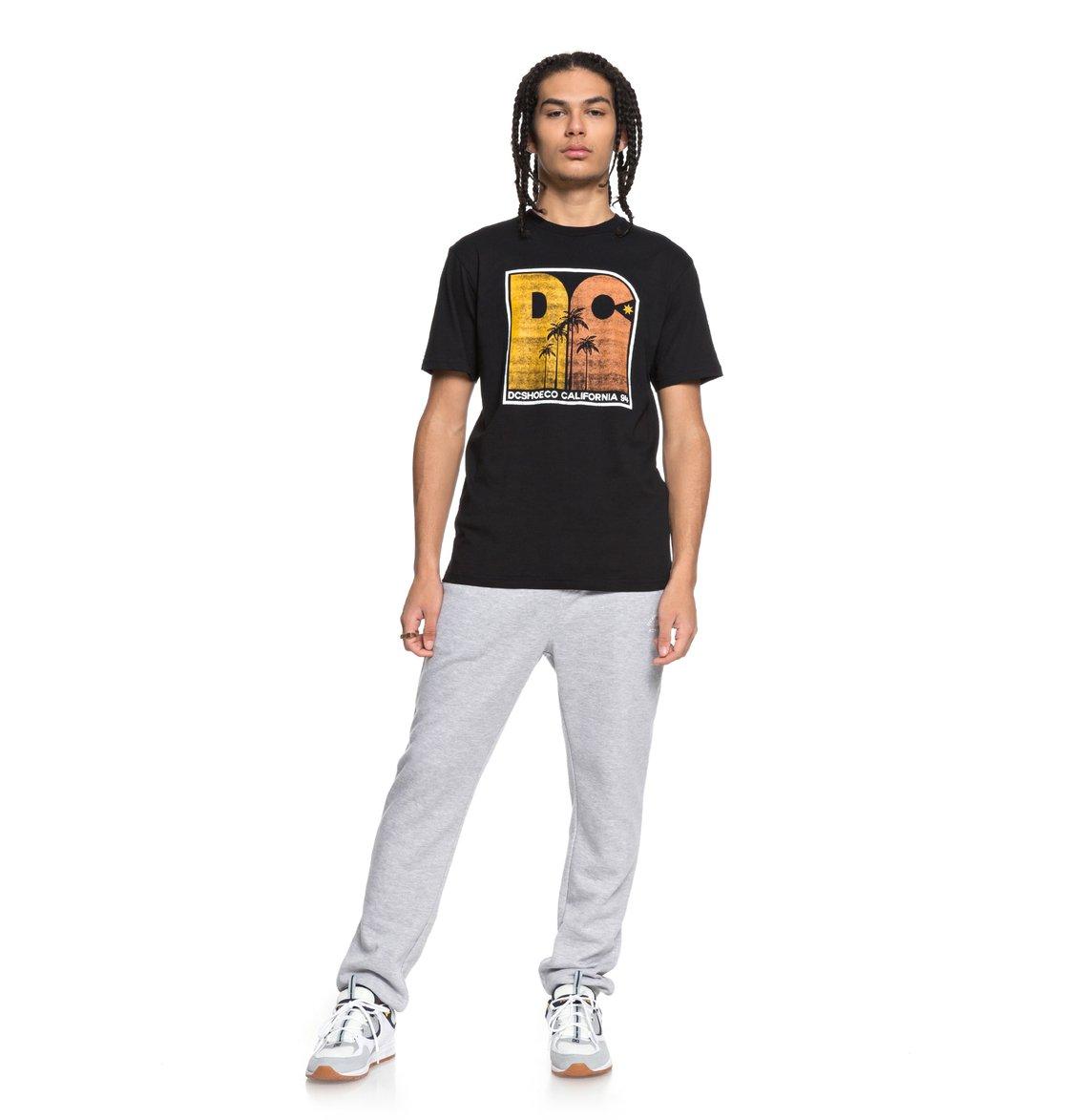 DC-Shoes-Sunset-Palms-Camiseta-para-Hombre-EDYZT03767 miniatura 8
