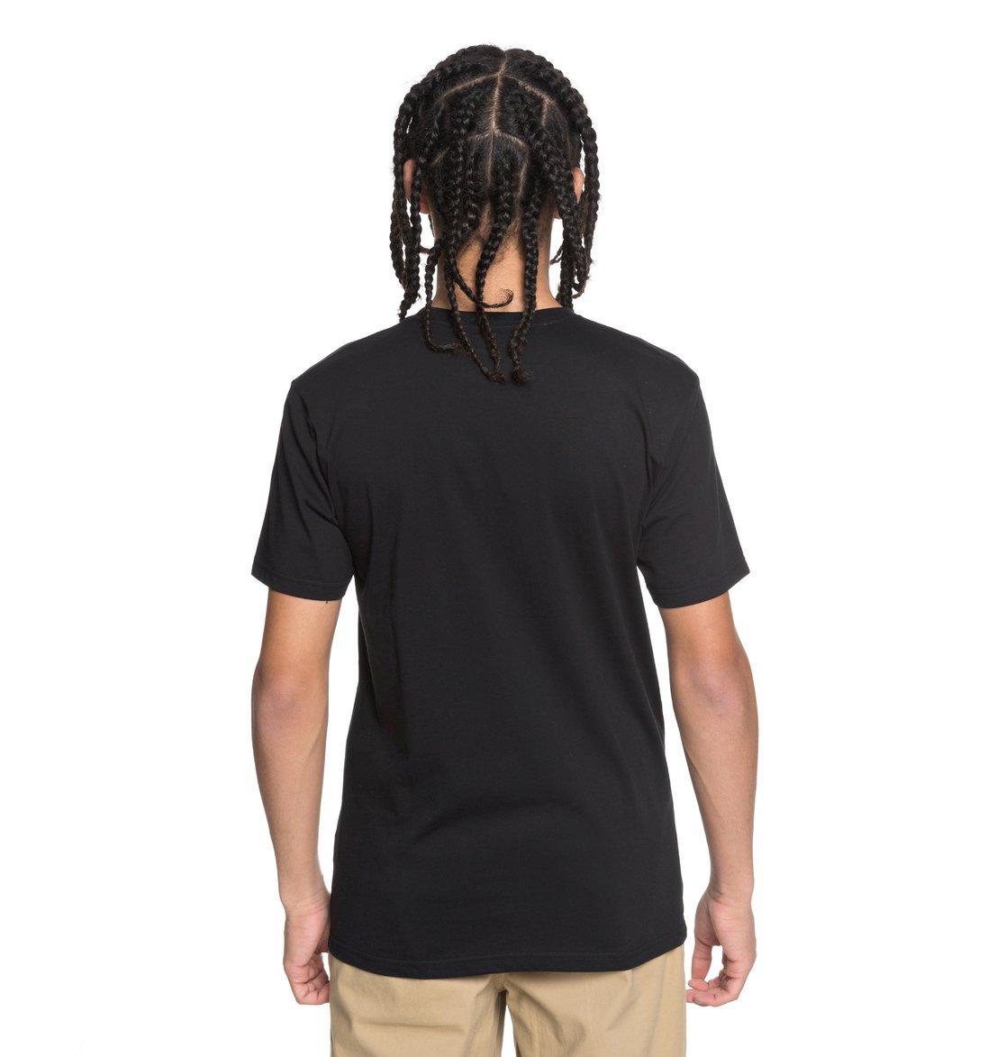DC-Shoes-Shuffle-Face-Camiseta-para-Hombre-EDYZT03777 miniatura 7