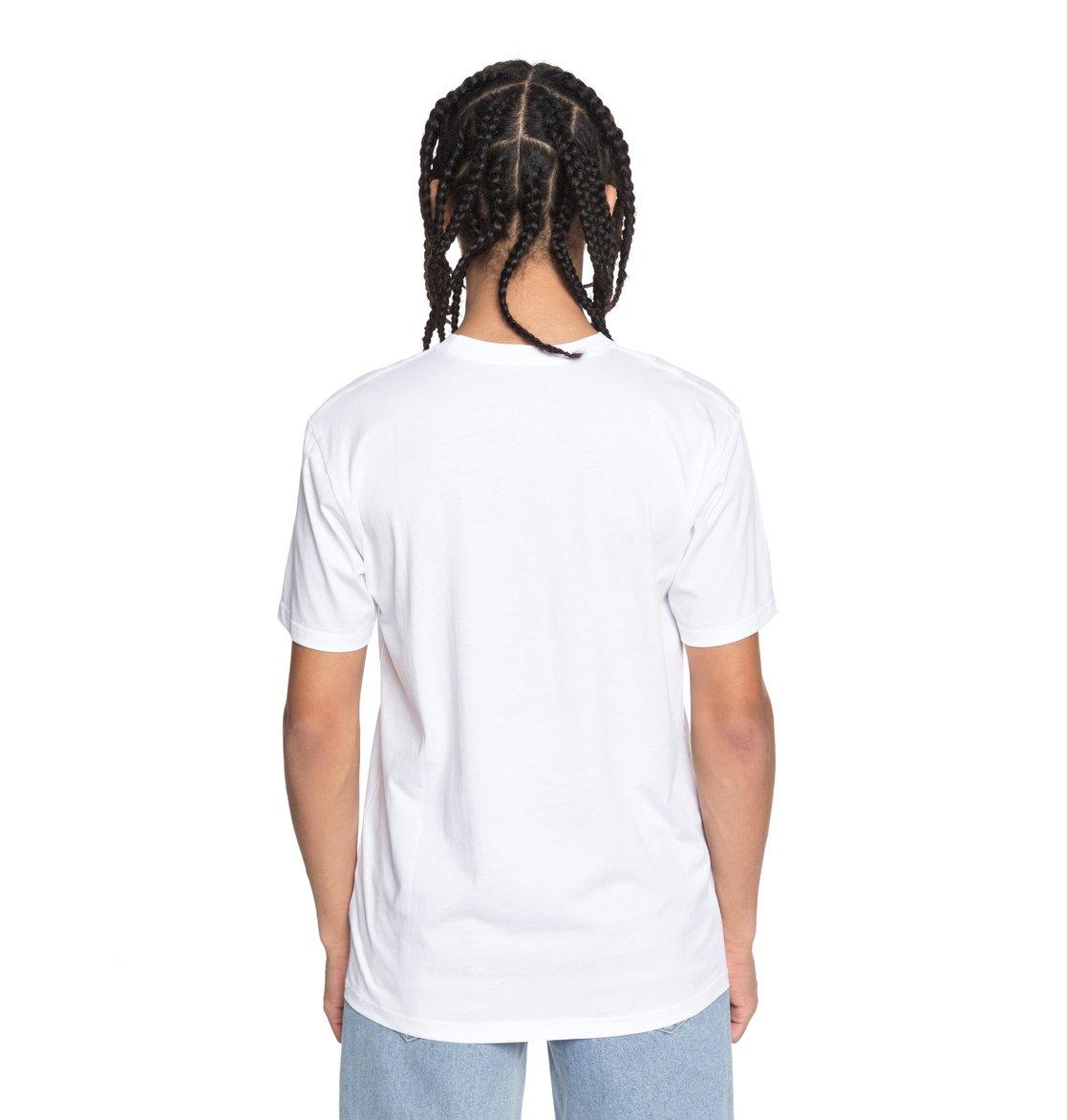 DC-Shoes-Shuffle-Face-Camiseta-para-Hombre-EDYZT03777 miniatura 15