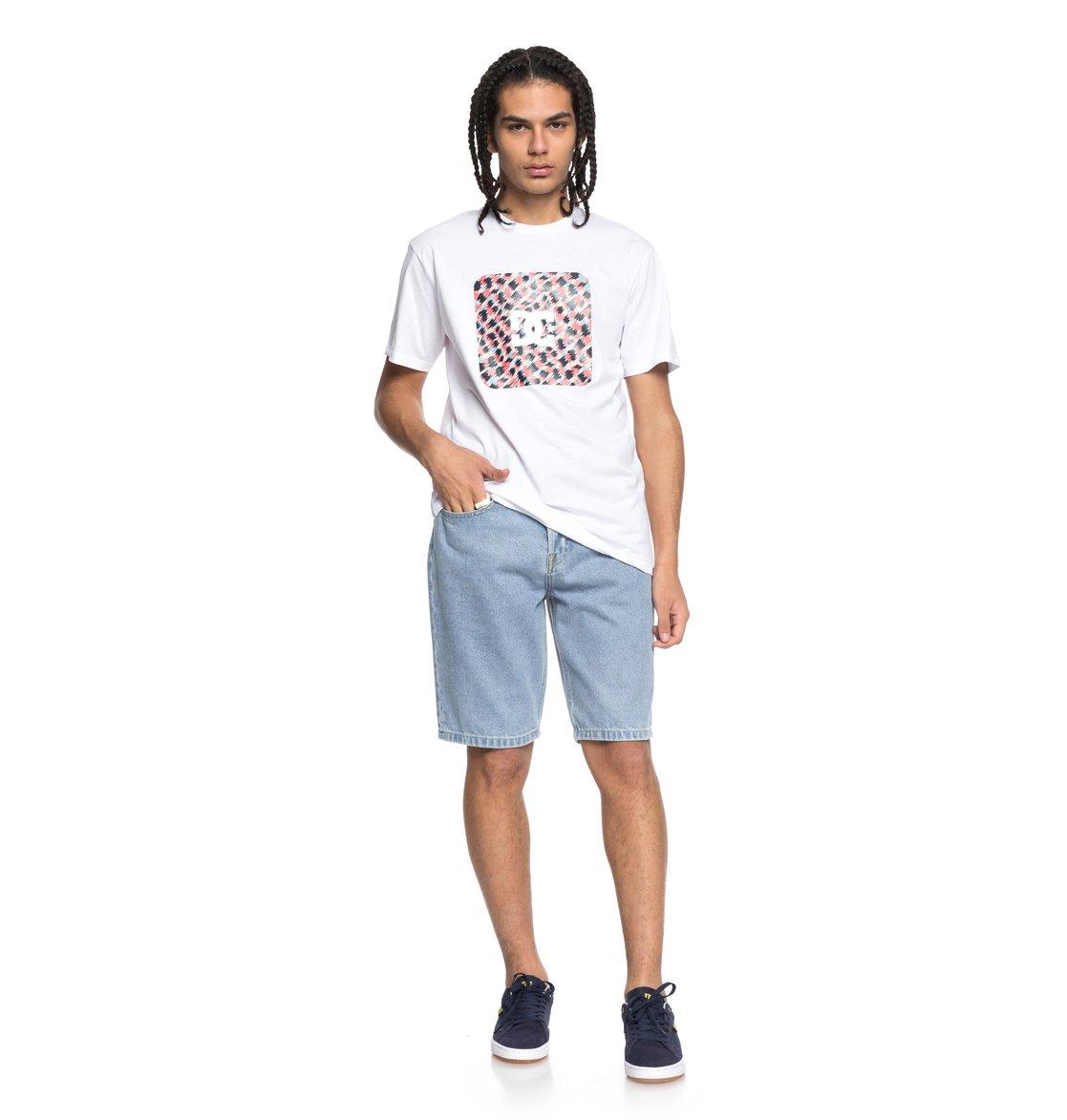 DC-Shoes-Shuffle-Face-Camiseta-para-Hombre-EDYZT03777 miniatura 14