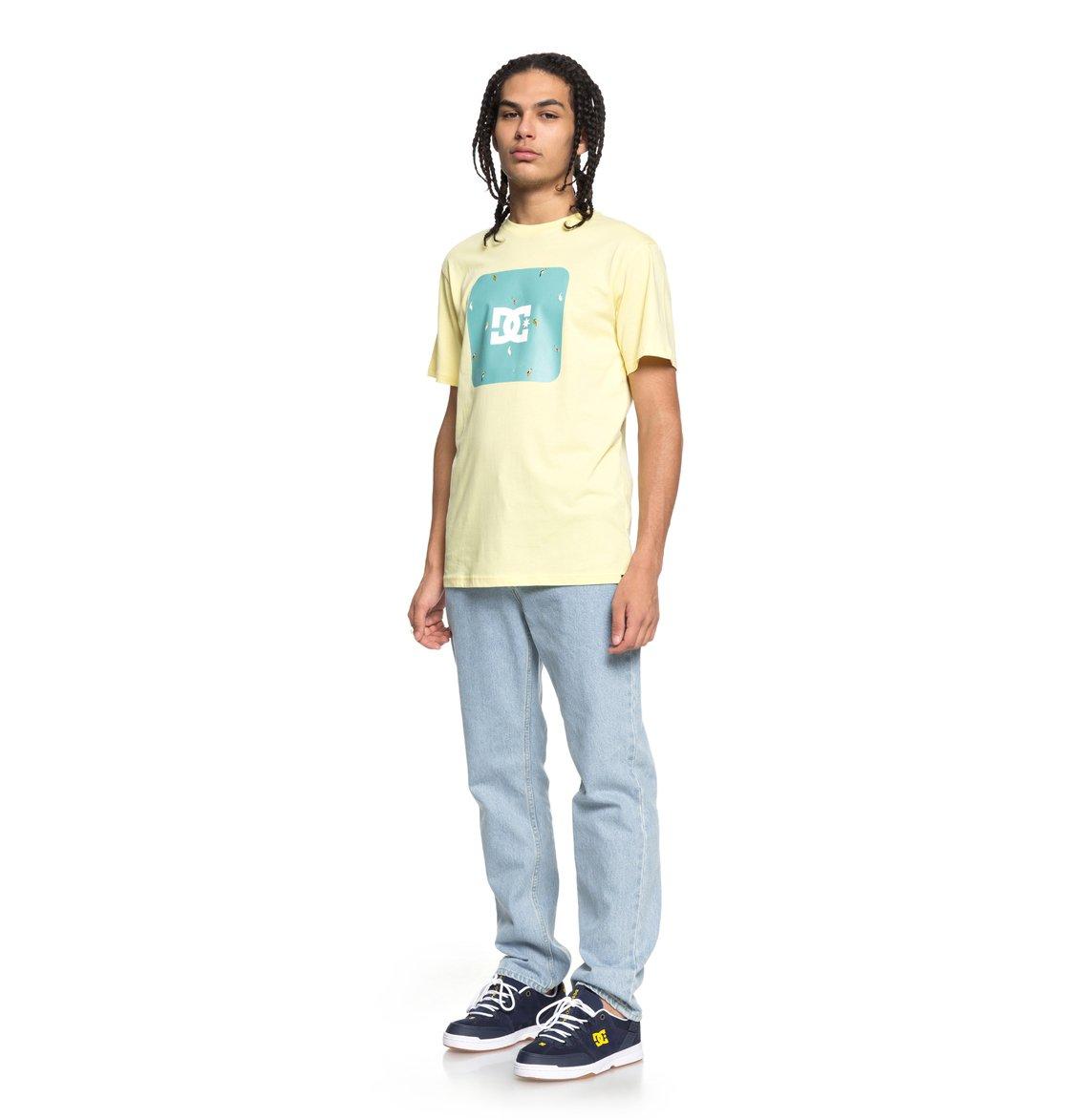 DC-Shoes-Shuffle-Face-Camiseta-para-Hombre-EDYZT03777 miniatura 10