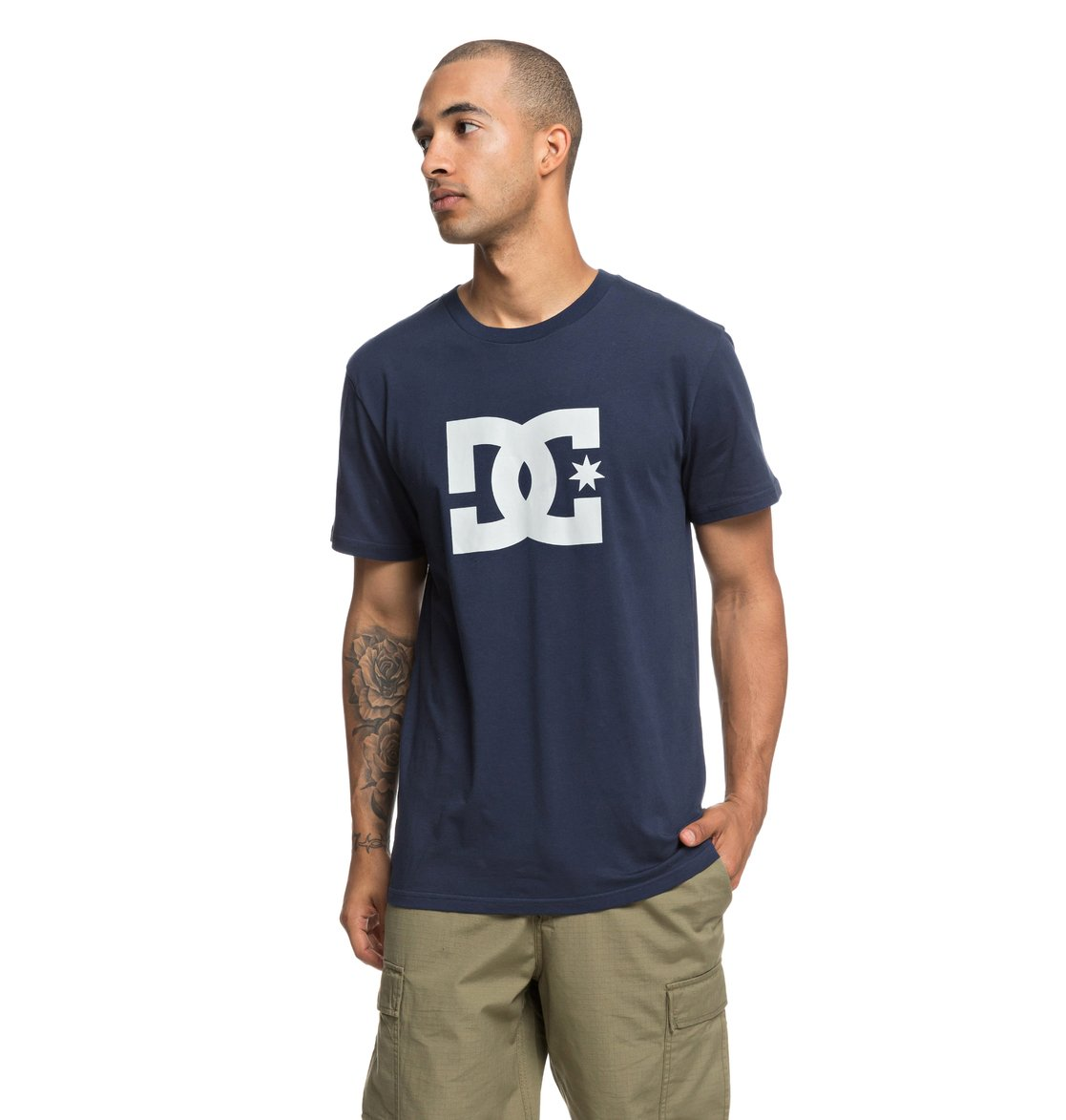 a09a0fa2ef97 0 Star - T-Shirt for Men Blue EDYZT03822 DC Shoes