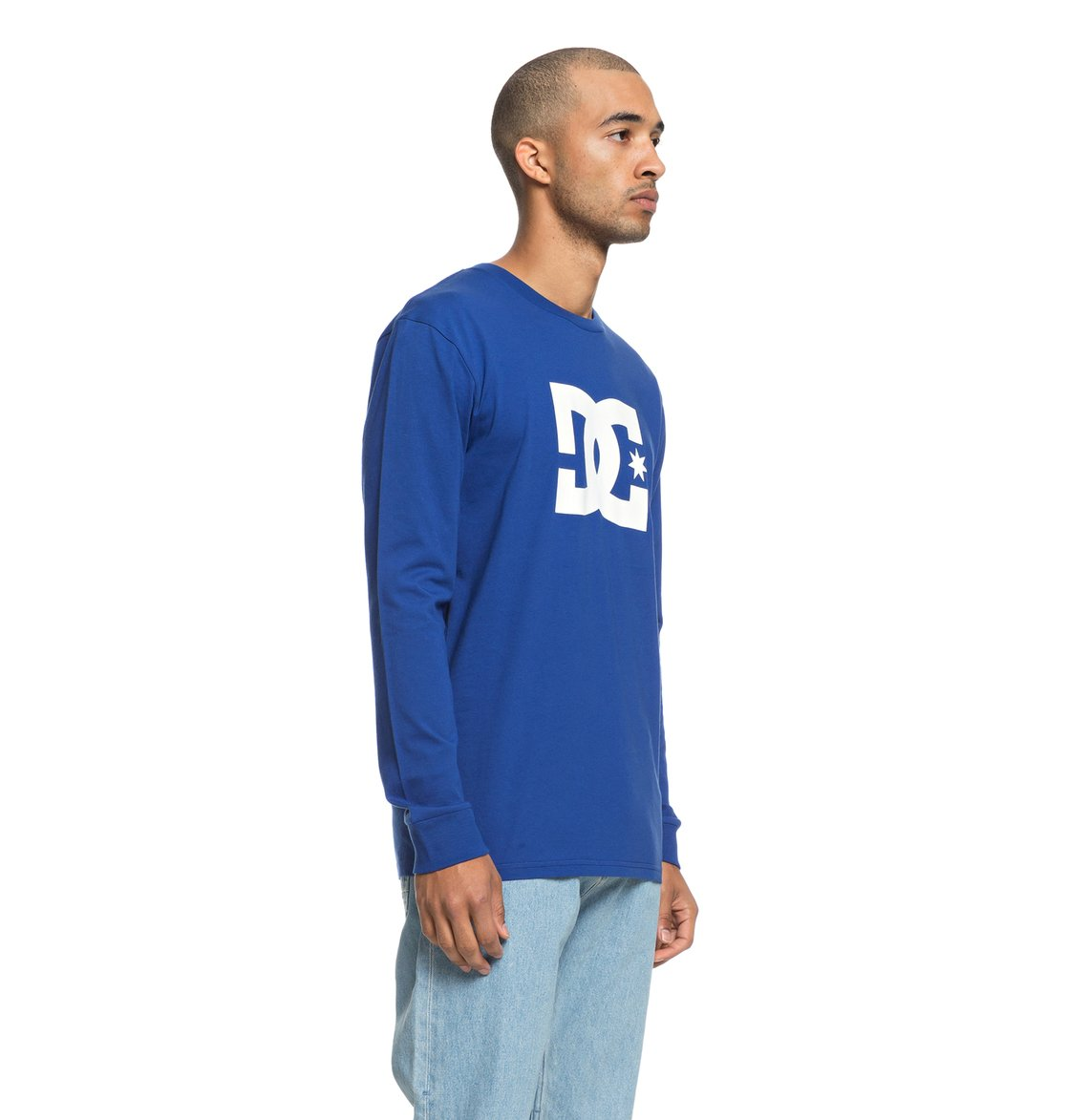 bb9bf648d0 1 Star - Long Sleeve T-Shirt for Men Blue EDYZT03828 DC Shoes