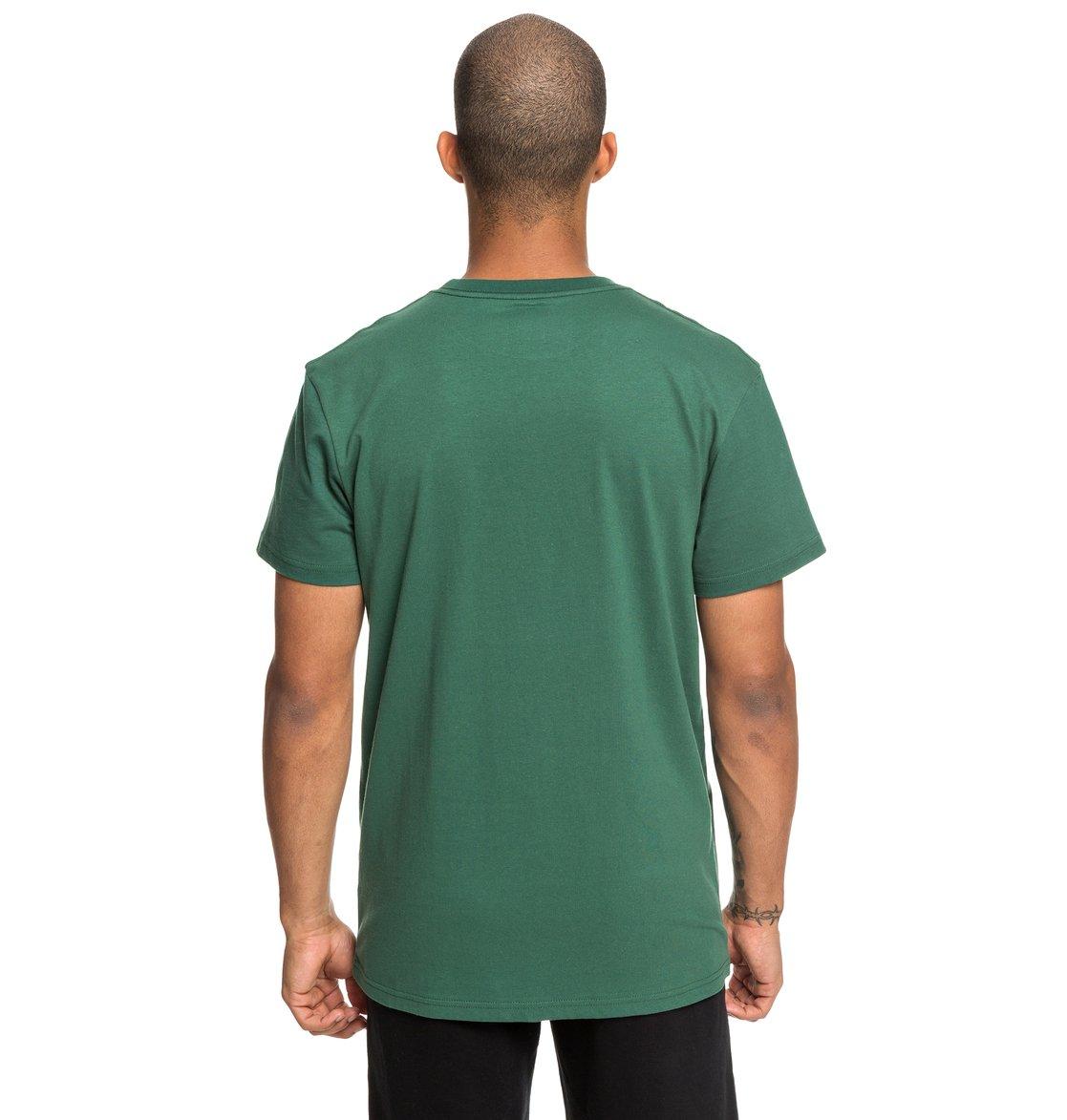 51ccb8c9954b4 3 Square Star - T-shirt pour Homme Vert EDYZT03902 DC Shoes
