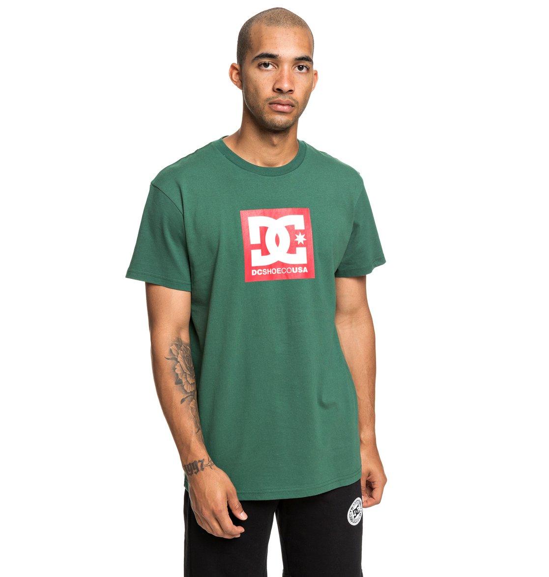ce231042a99b4 0 Square Star - T-shirt pour Homme Vert EDYZT03902 DC Shoes