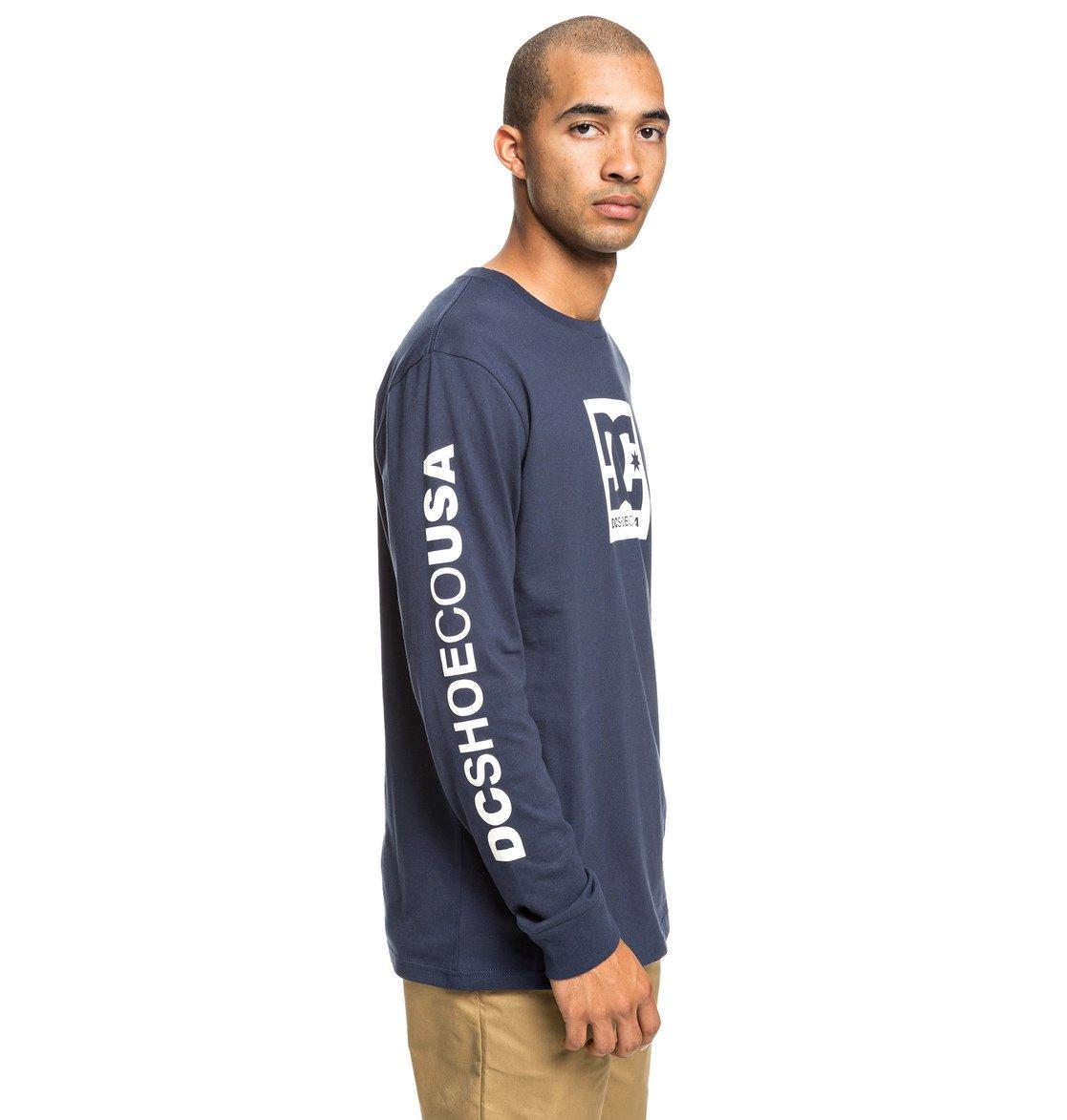 5bf89da89c7ab 1 Square Star - T-shirt manches longues pour Homme Bleu EDYZT03915 DC Shoes