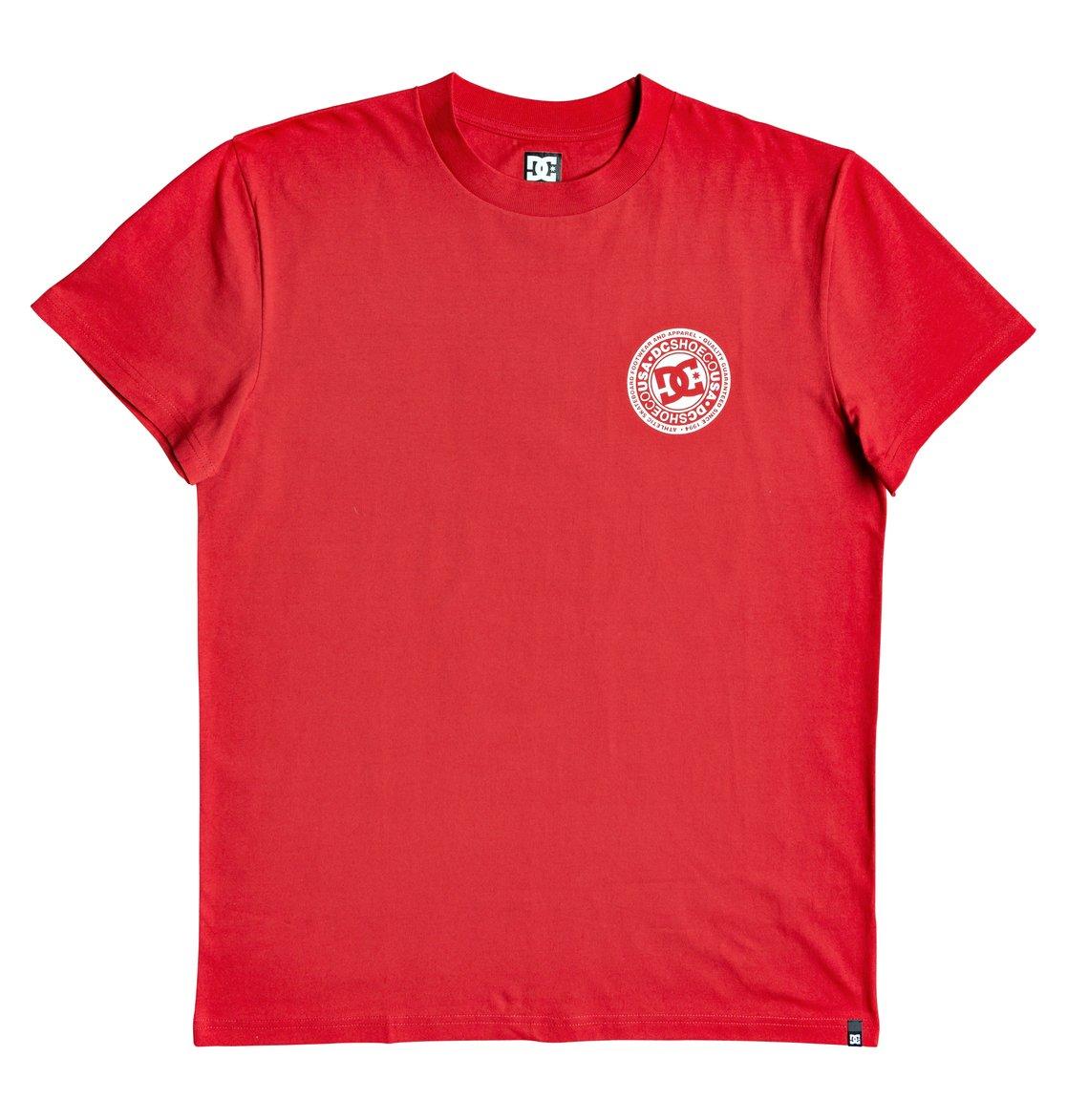 DC-Shoes-Circle-Star-T-shirt-pour-Homme-EDYZT04085 miniature 26
