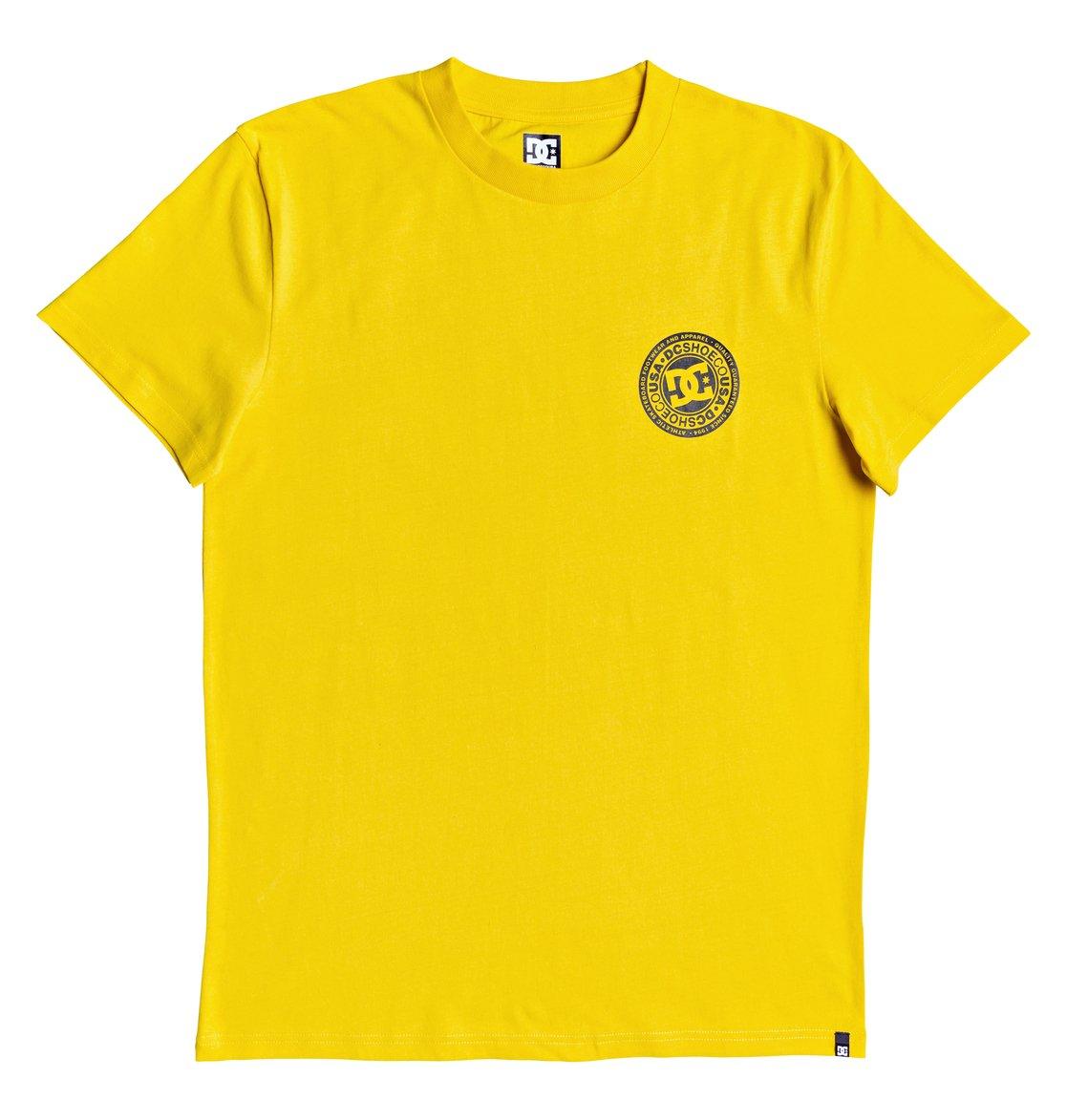 DC-Shoes-Circle-Star-T-shirt-pour-Homme-EDYZT04085 miniature 18