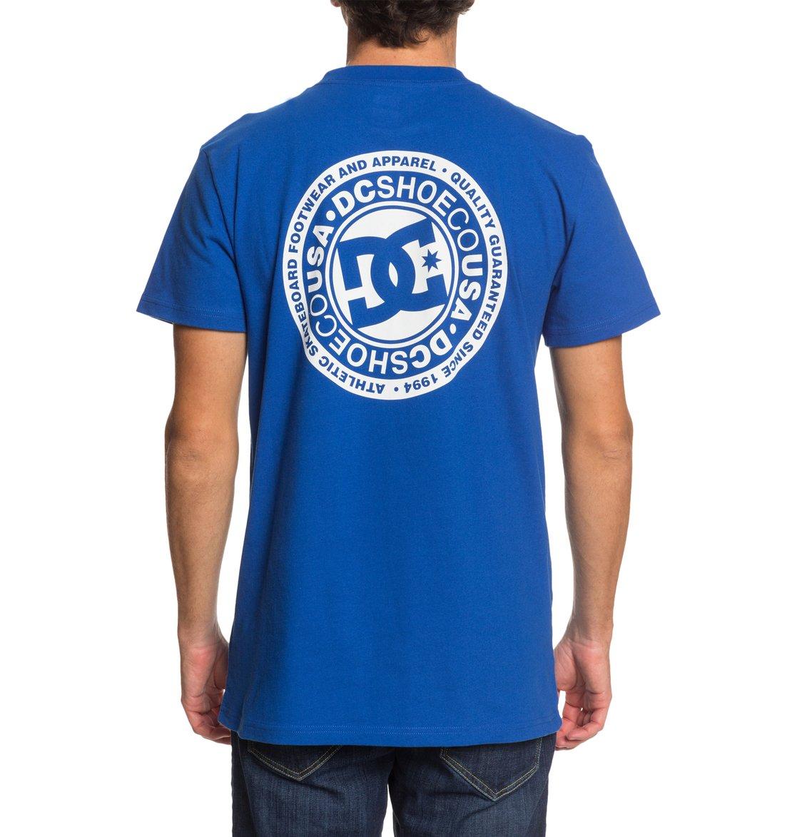 DC-Shoes-Circle-Star-T-shirt-pour-Homme-EDYZT04085 miniature 12