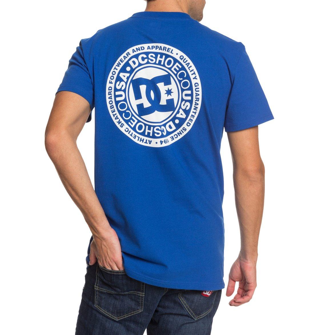 DC-Shoes-Circle-Star-T-shirt-pour-Homme-EDYZT04085 miniature 13