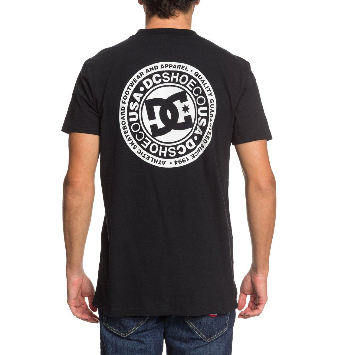 DC-Shoes-Circle-Star-T-shirt-pour-Homme-EDYZT04085 miniature 20