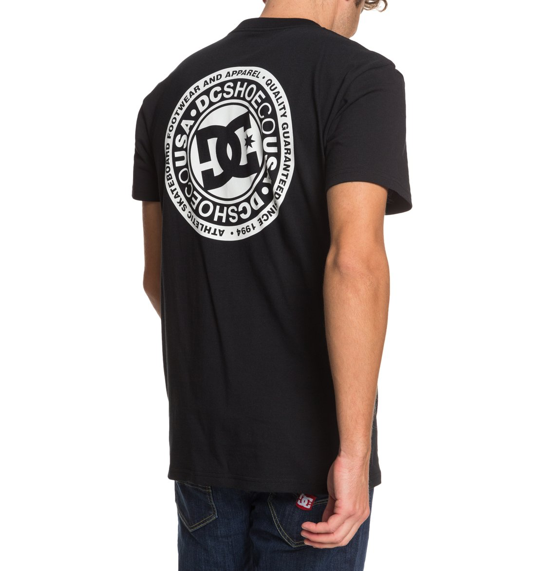 DC-Shoes-Circle-Star-T-shirt-pour-Homme-EDYZT04085 miniature 21