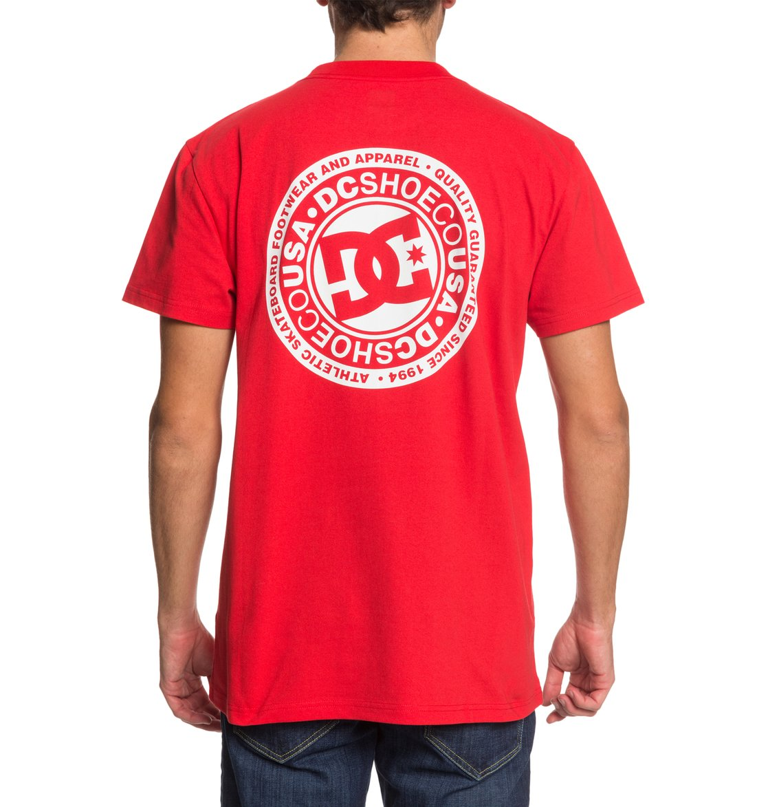 DC-Shoes-Circle-Star-T-shirt-pour-Homme-EDYZT04085 miniature 24
