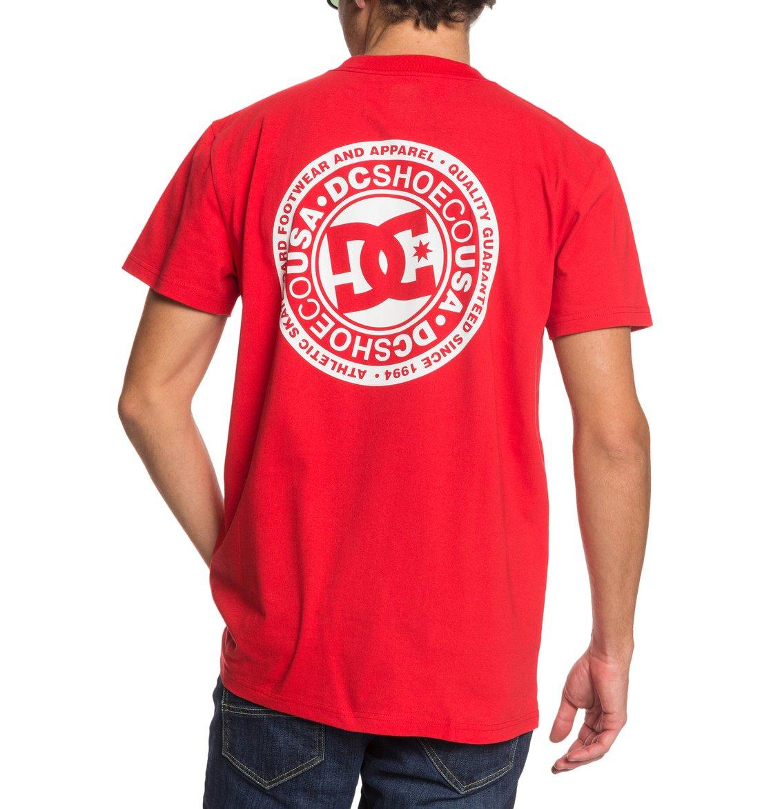 DC-Shoes-Circle-Star-T-shirt-pour-Homme-EDYZT04085 miniature 25