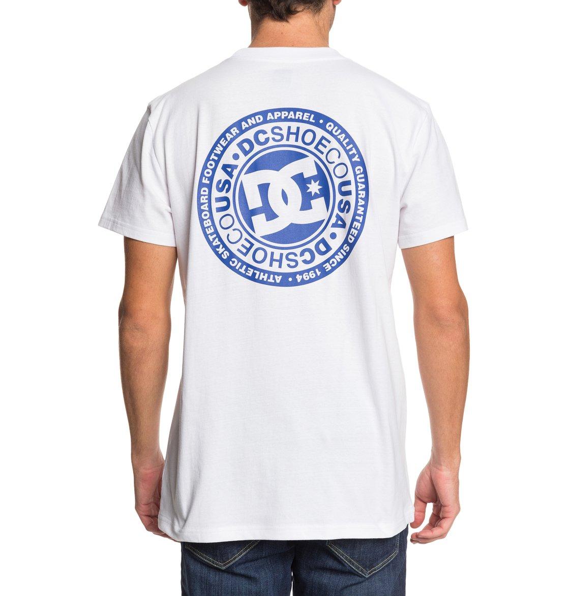 DC-Shoes-Circle-Star-T-shirt-pour-Homme-EDYZT04085 miniature 6