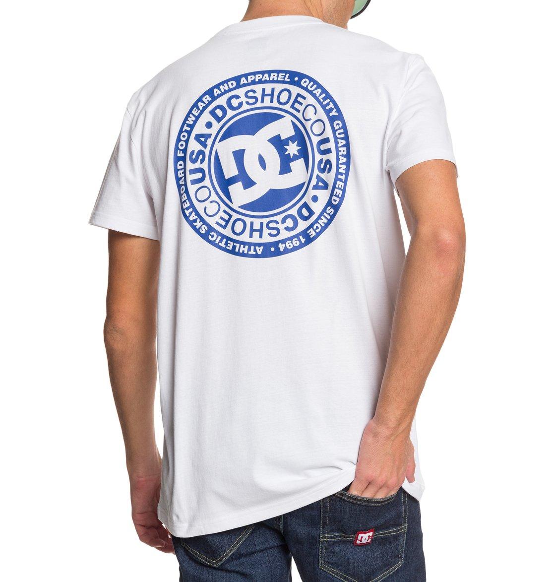 DC-Shoes-Circle-Star-T-shirt-pour-Homme-EDYZT04085 miniature 7
