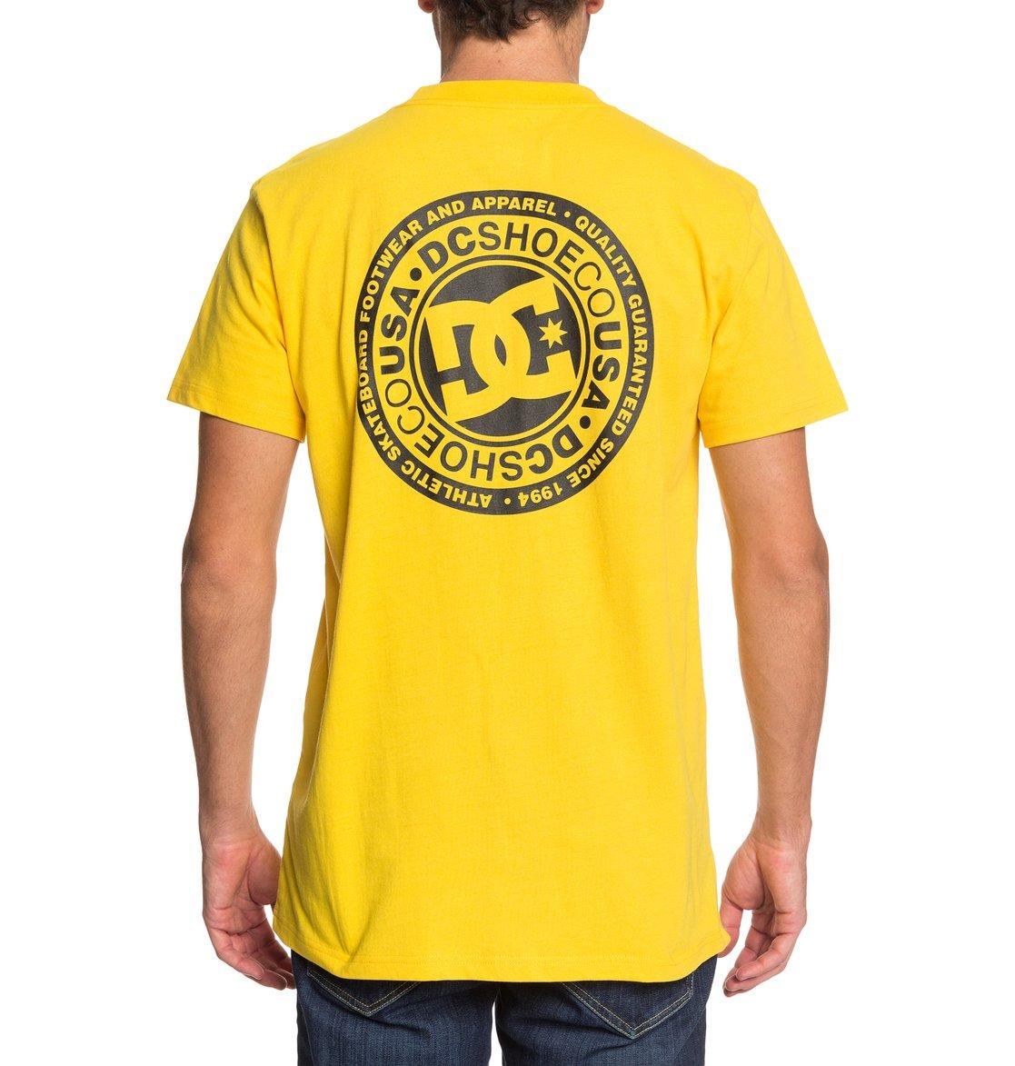 DC-Shoes-Circle-Star-T-shirt-pour-Homme-EDYZT04085 miniature 16
