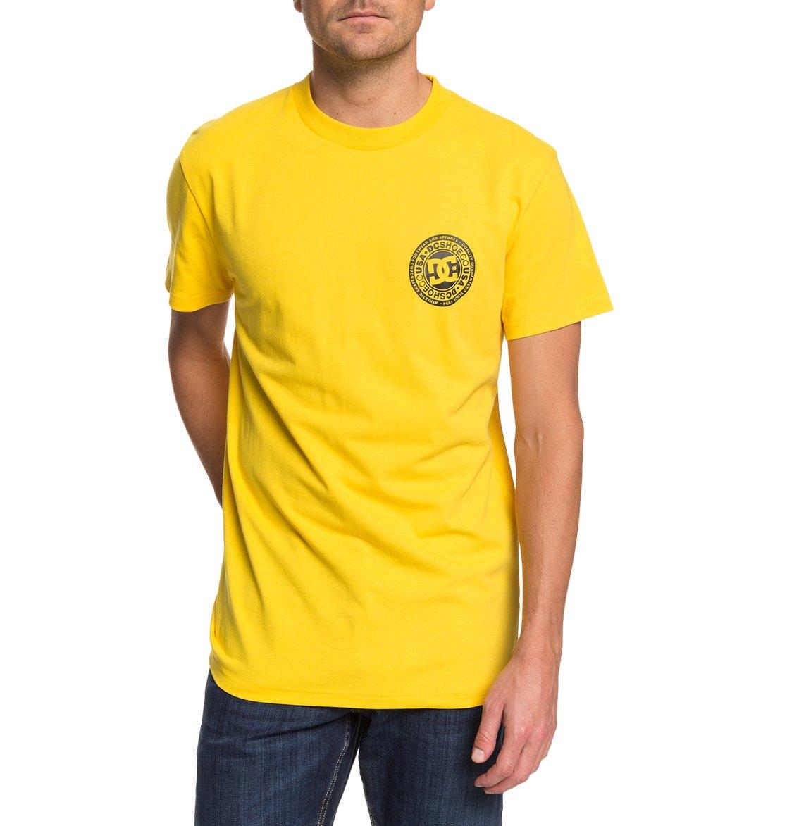DC-Shoes-Circle-Star-T-shirt-pour-Homme-EDYZT04085 miniature 17
