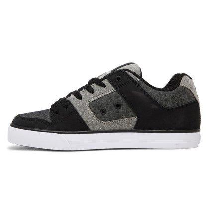 Shoes for Boys DC Shoes Pure Chaussures de Skateboard Gar/çon