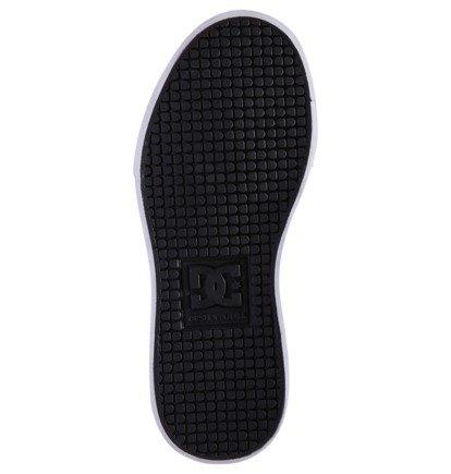 DC Shoes Pure Hi ACDC édition limitée dos en Noir Taille UK 3-6