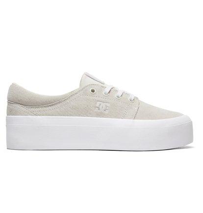3341d8edd6b 0 Trase Platform LE - Baskets pour Femme Blanc ADJS300218 DC Shoes