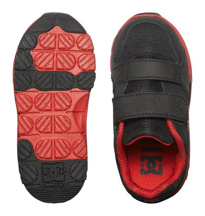 DC ADTS700030 FORTER V Toddler walking//Casual sneakers  Red  Fast Shipping L