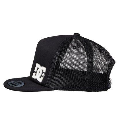DC SHOES MADGLADS TRUCKER HAT SNAPBACK CAP BLACK