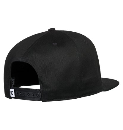 Black Iris One Size Dc Reynotts Mens Headwear Cap
