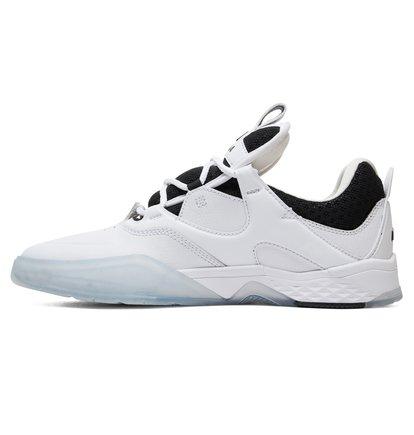 DC Shoes Kalis S Manolo White Skate Shoes